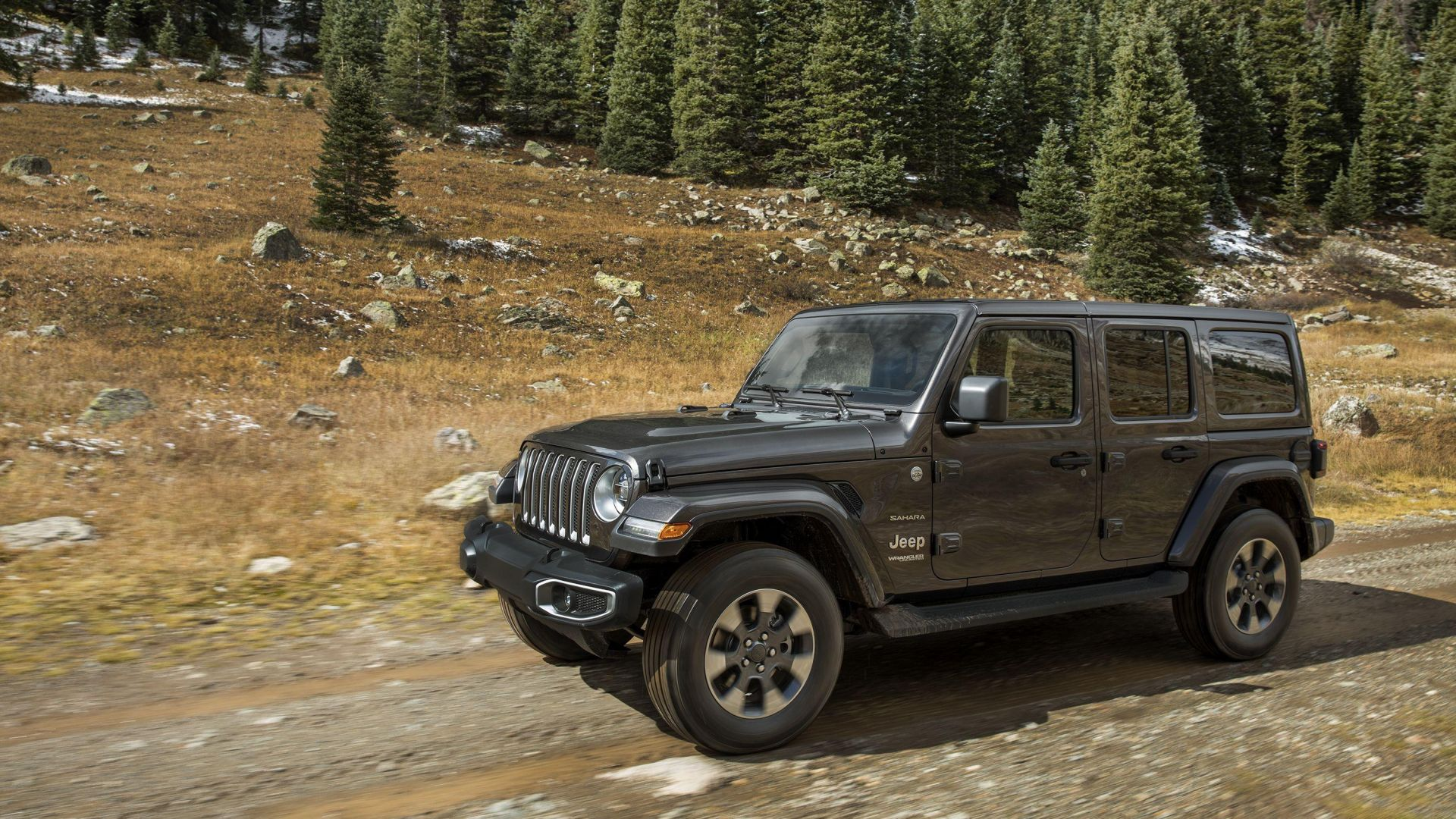 Jeep Wrangler, SUV, 2019 Cars, 4K (horizontal)