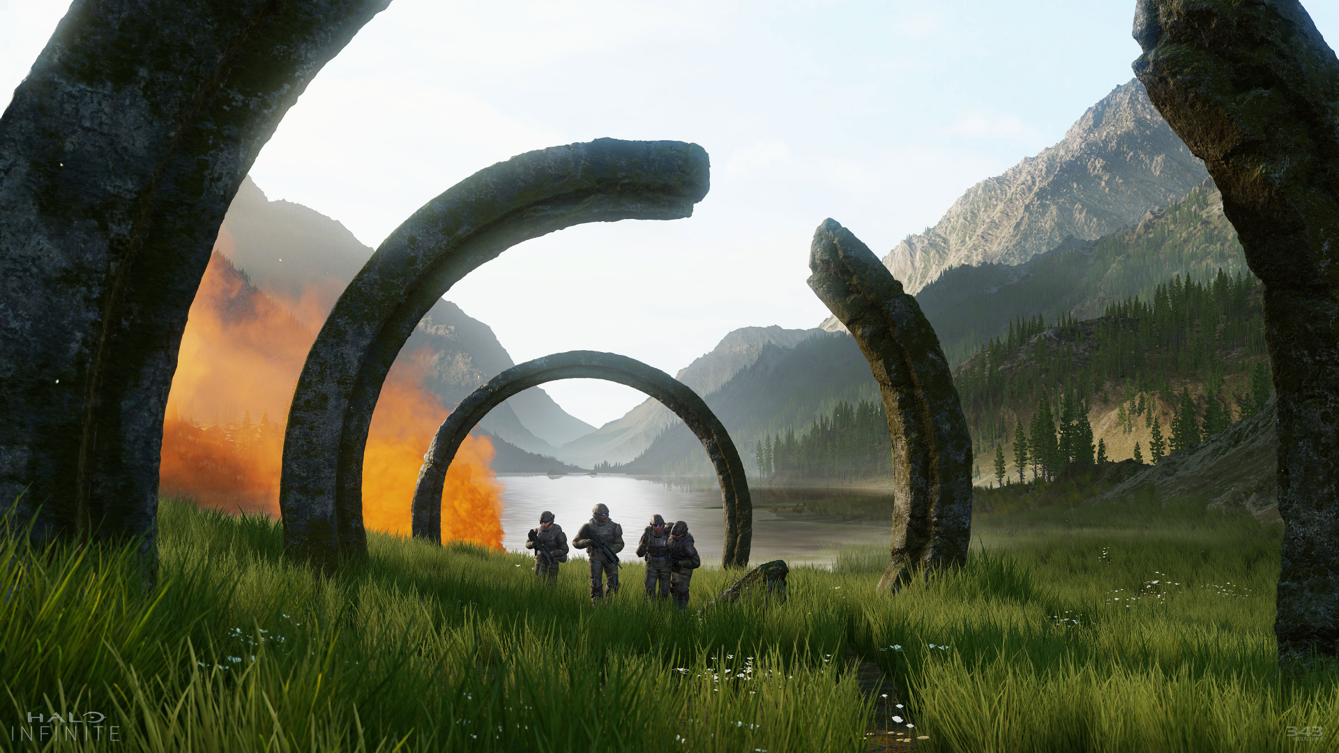 Wallpaper Halo Infinite E3 2018 Screenshot 4k Games 19005
