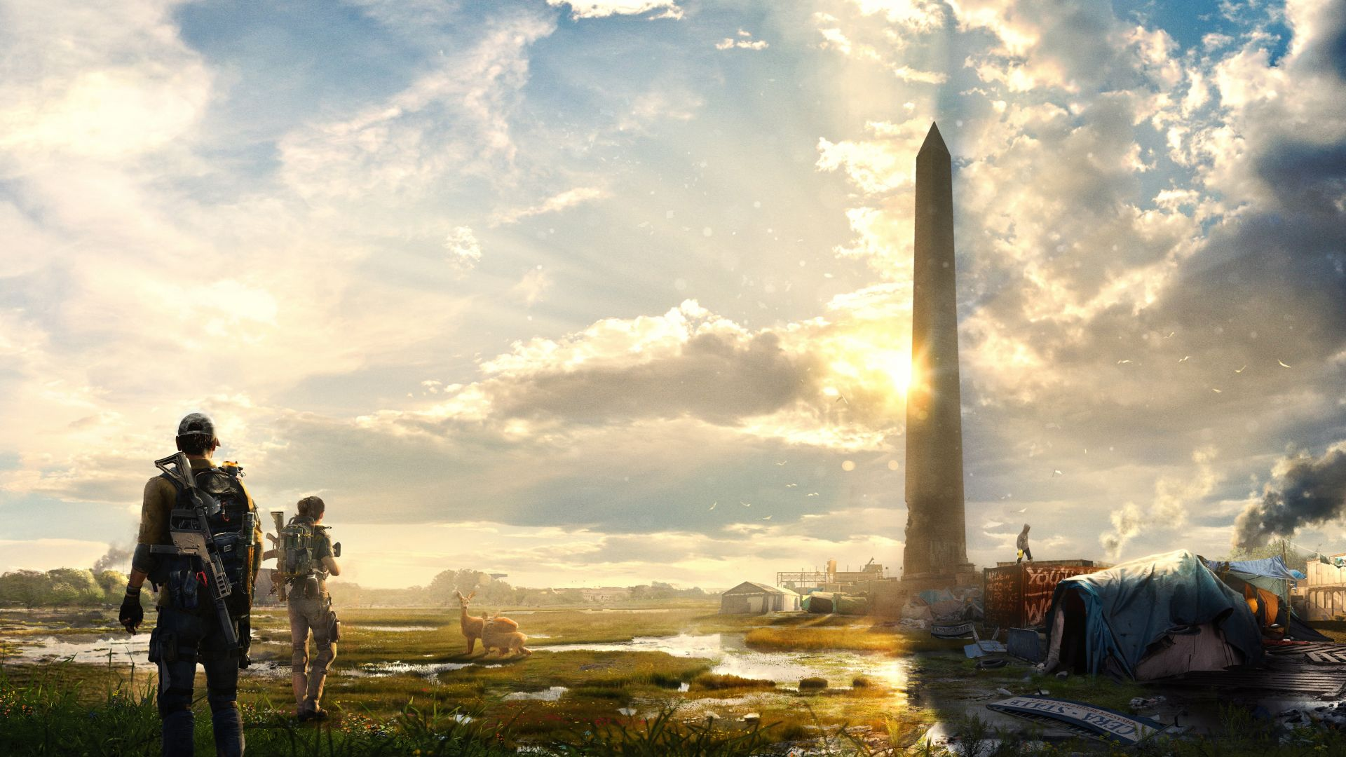 Top 13 The Division 2 Wallpapers In 4k And Full Hd For Desktop