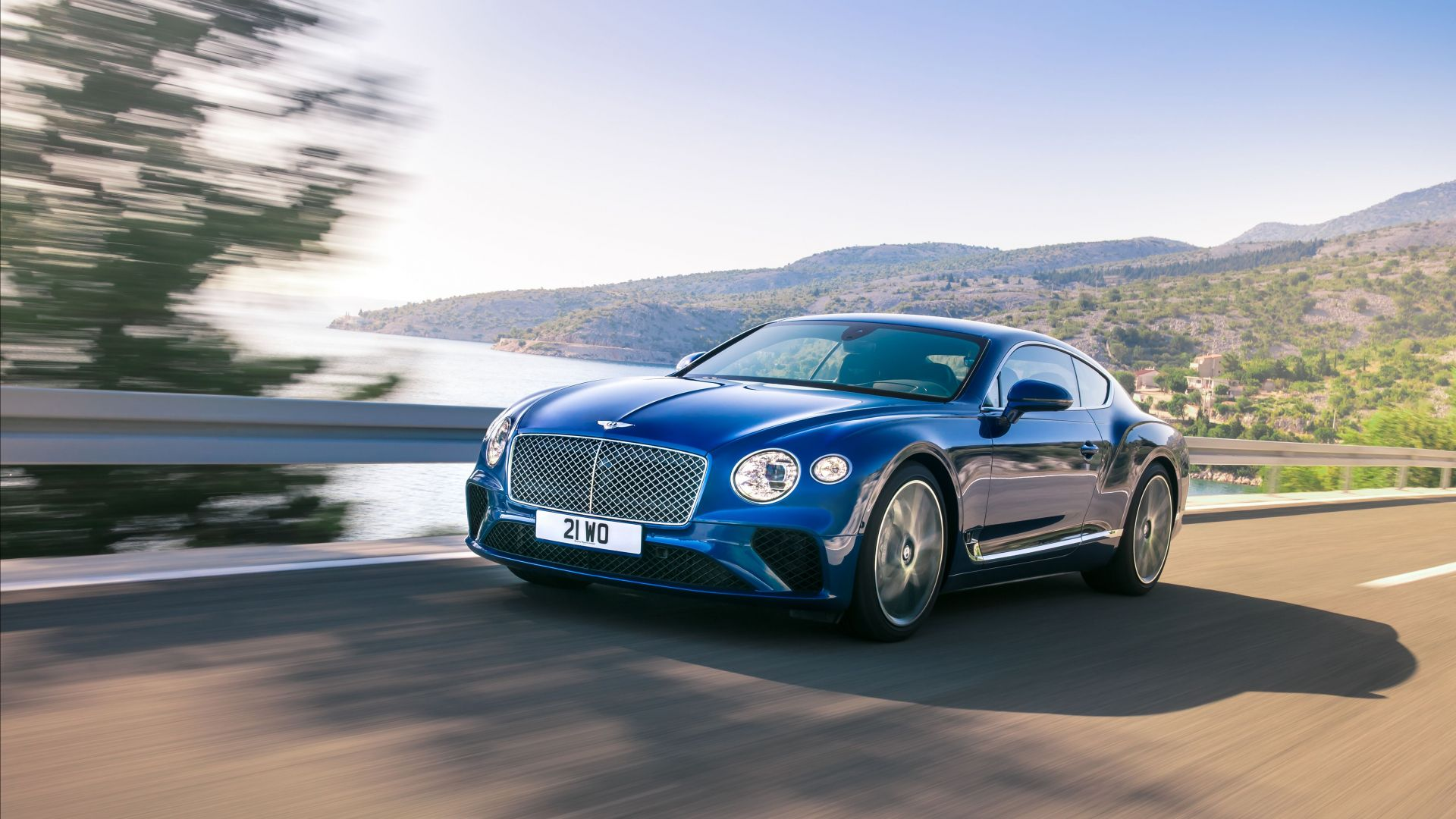 Bentley Continental GT, 2019 Cars, 4K (horizontal)