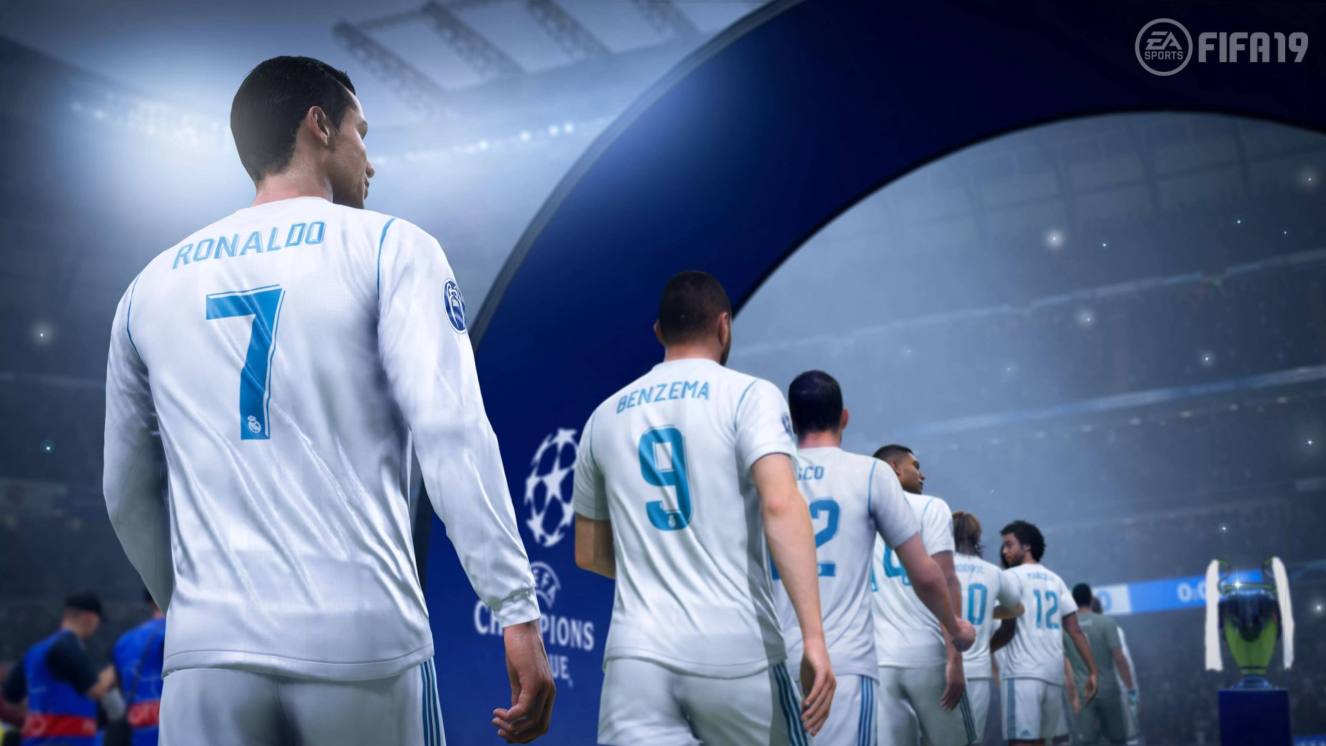 FIFA 19, E3 2018, screenshot, 8K (horizontal)