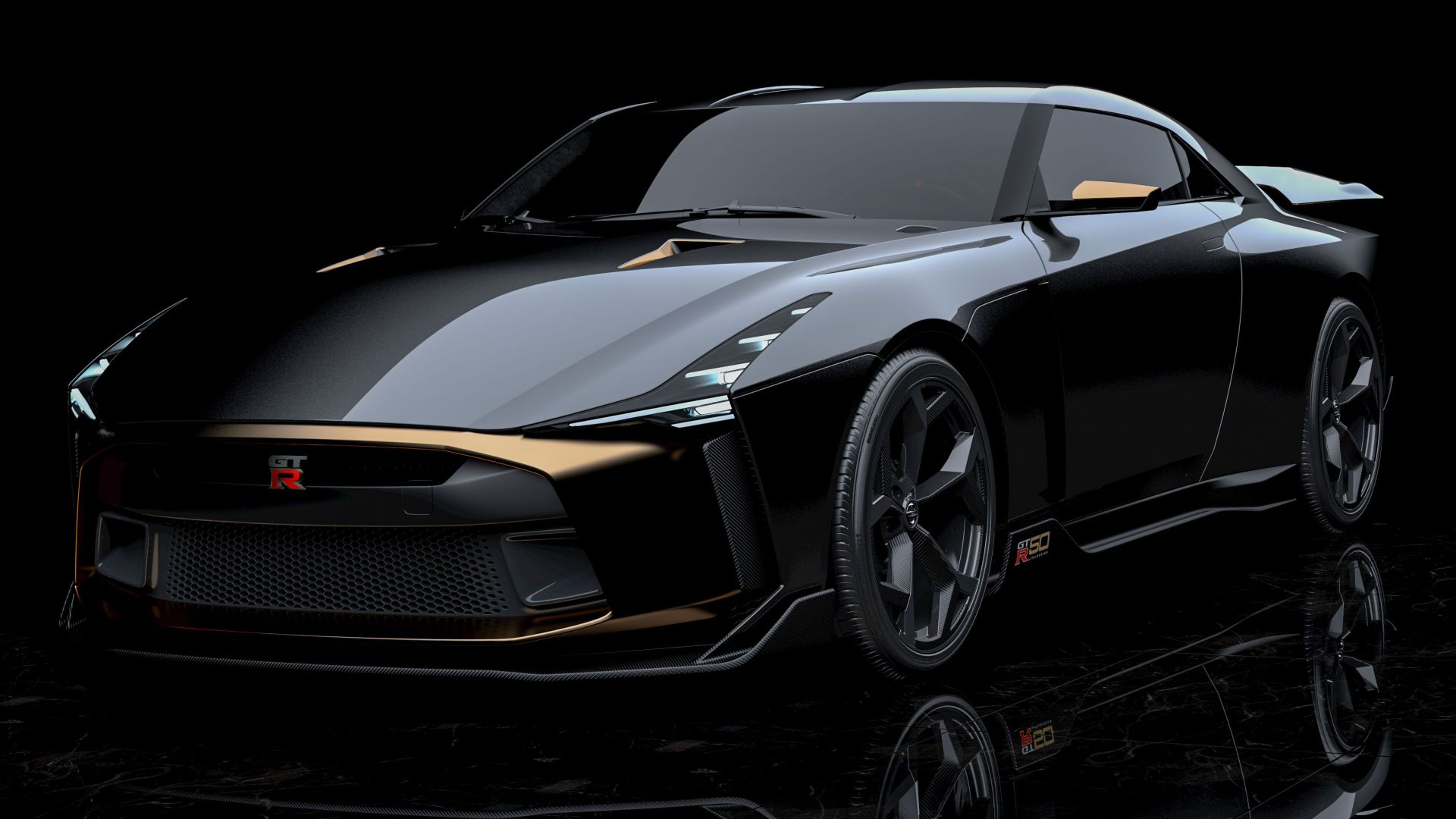 Nissan GT-R50 Italdesign Concept, 2018 Cars, 4K (horizontal)