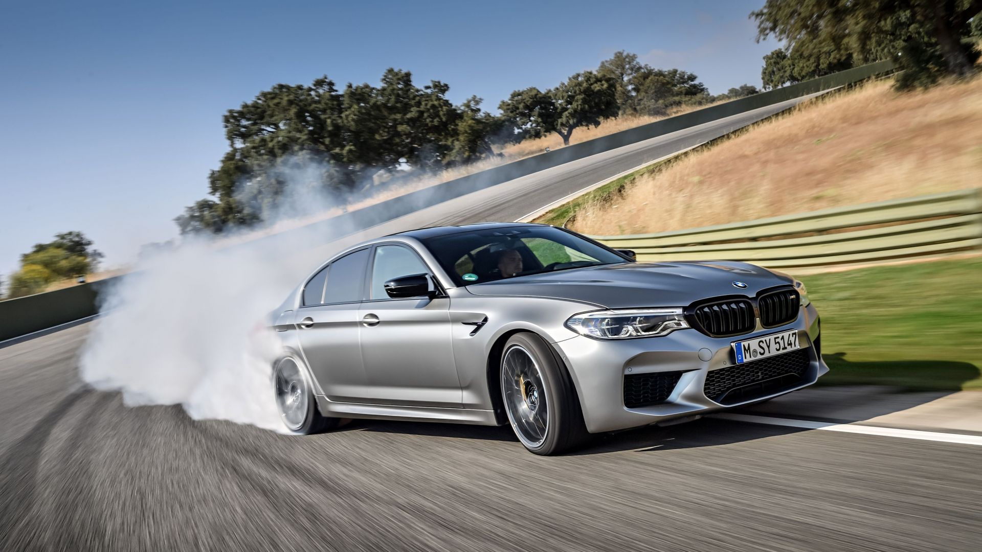BMW M5 Competition, 2019 Cars, limited edition, 4K (horizontal)