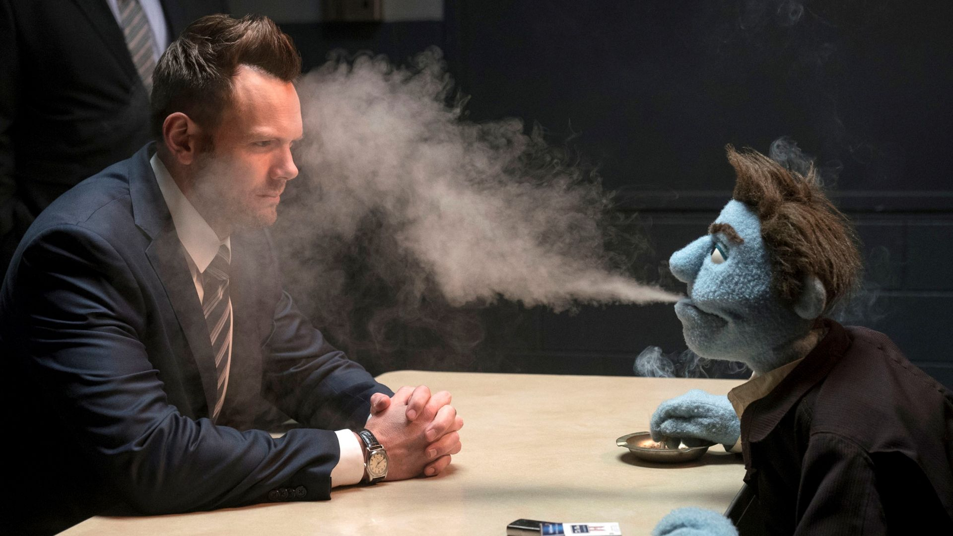The Happytime Murders, Joel McHale, 4K (horizontal)