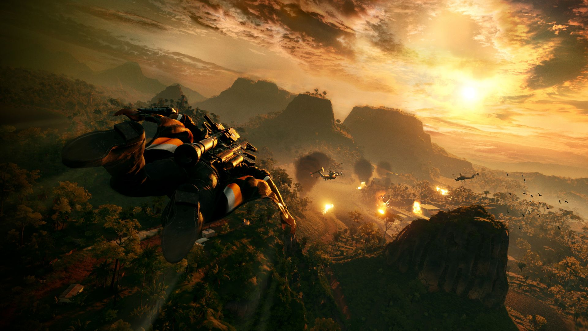 Just Cause 4, Gamescom 2018, screenshot, 4K (horizontal)