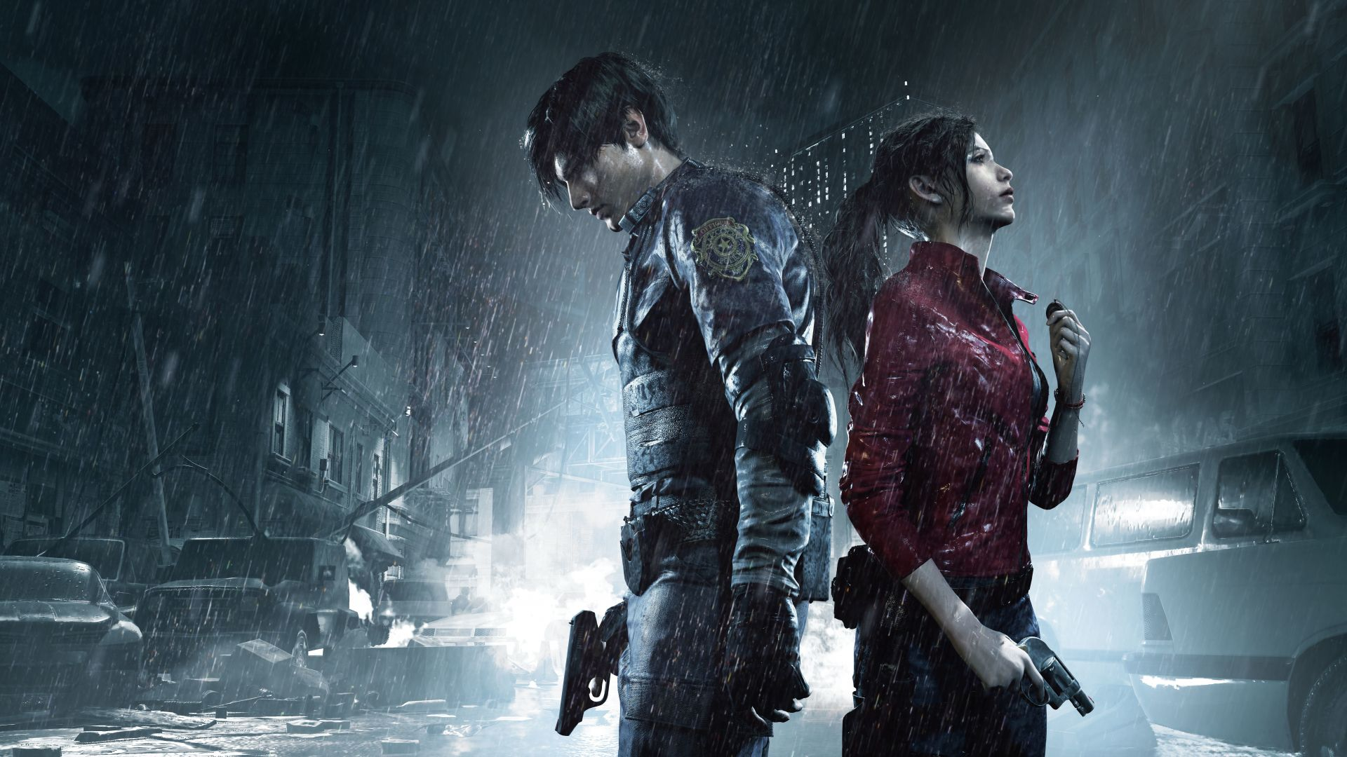 Resident Evil 2, Gamescom 2018, poster, artwork, 10K (horizontal)