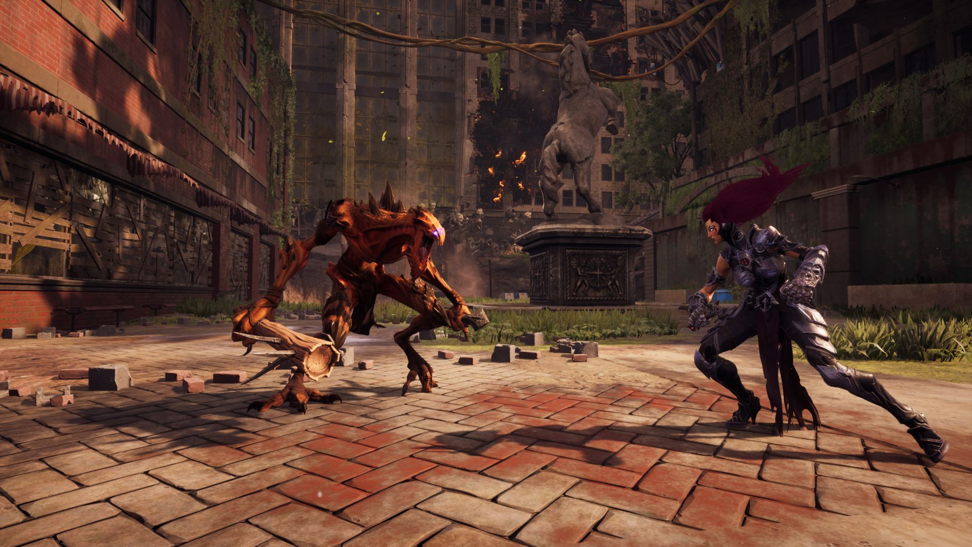 Darksiders III, Gamescom 2018, screenshot, 4K (horizontal)
