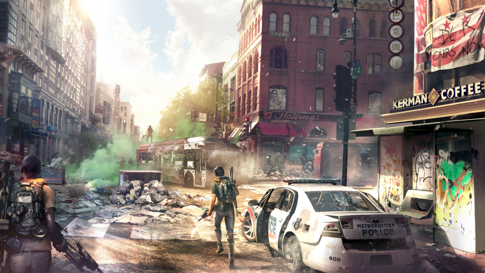 Tom Clancy's The Division 2, Gamescom 2018, poster, 7K (horizontal)