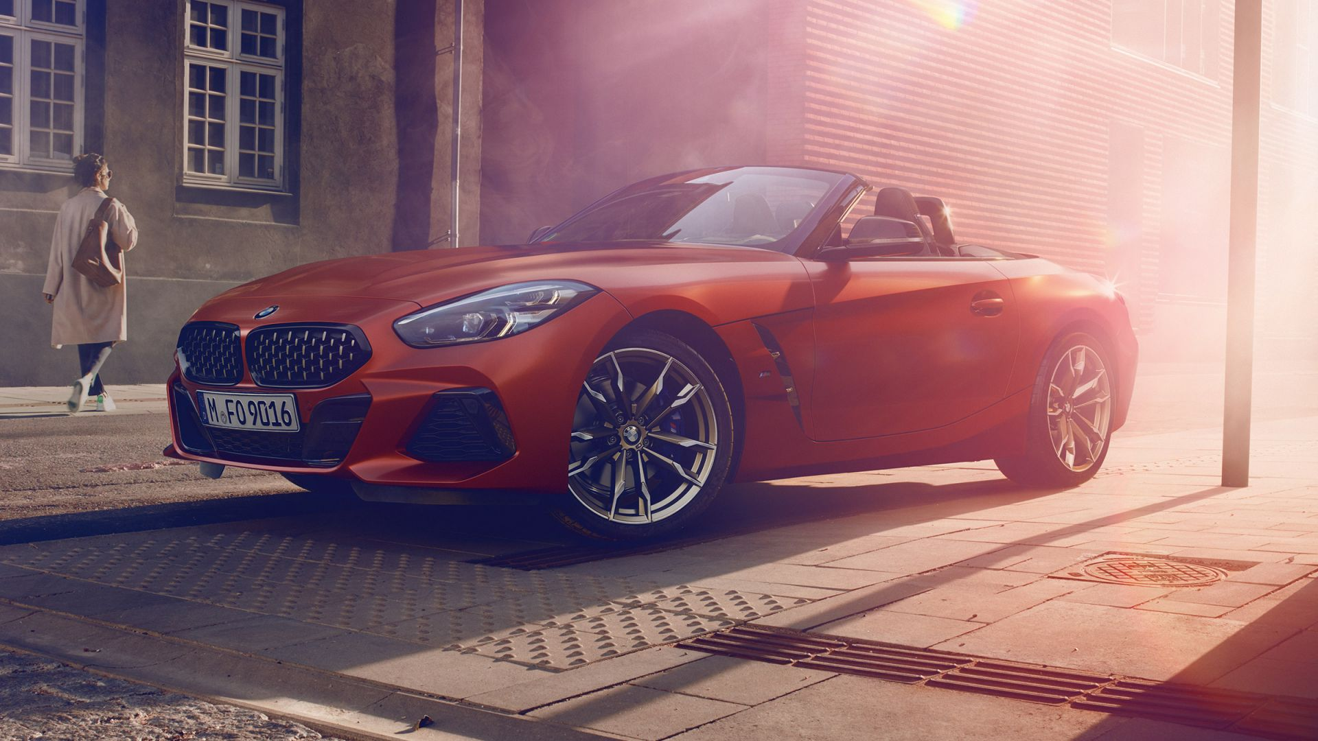 BMW Z4 M40i First Edition, 2019 Cars, sports car, HD (horizontal)