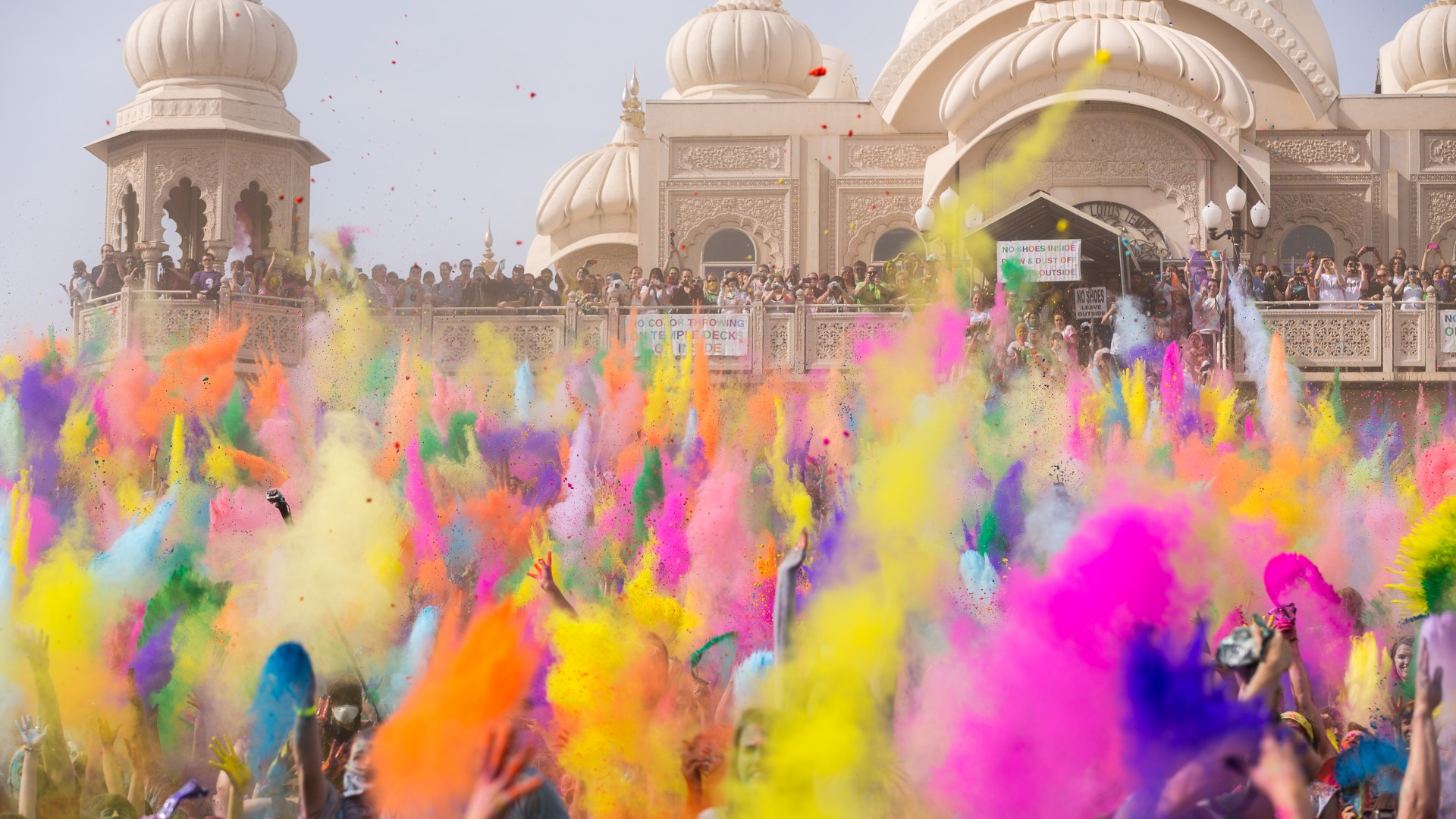Holi Festival Of Colours Indian Holiday Spring Life New Moon