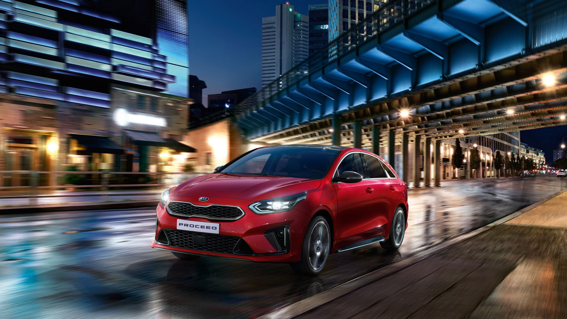 Kia ProCeed GT, 2019 Cars, 4K (horizontal)
