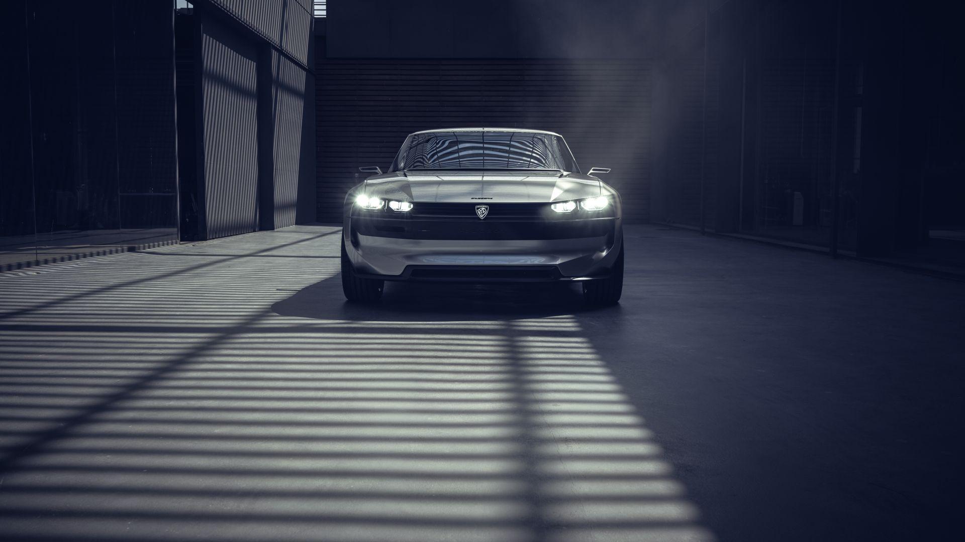 Wallpaper Peugeot E-Legend, Electric Cars, 4K, Cars