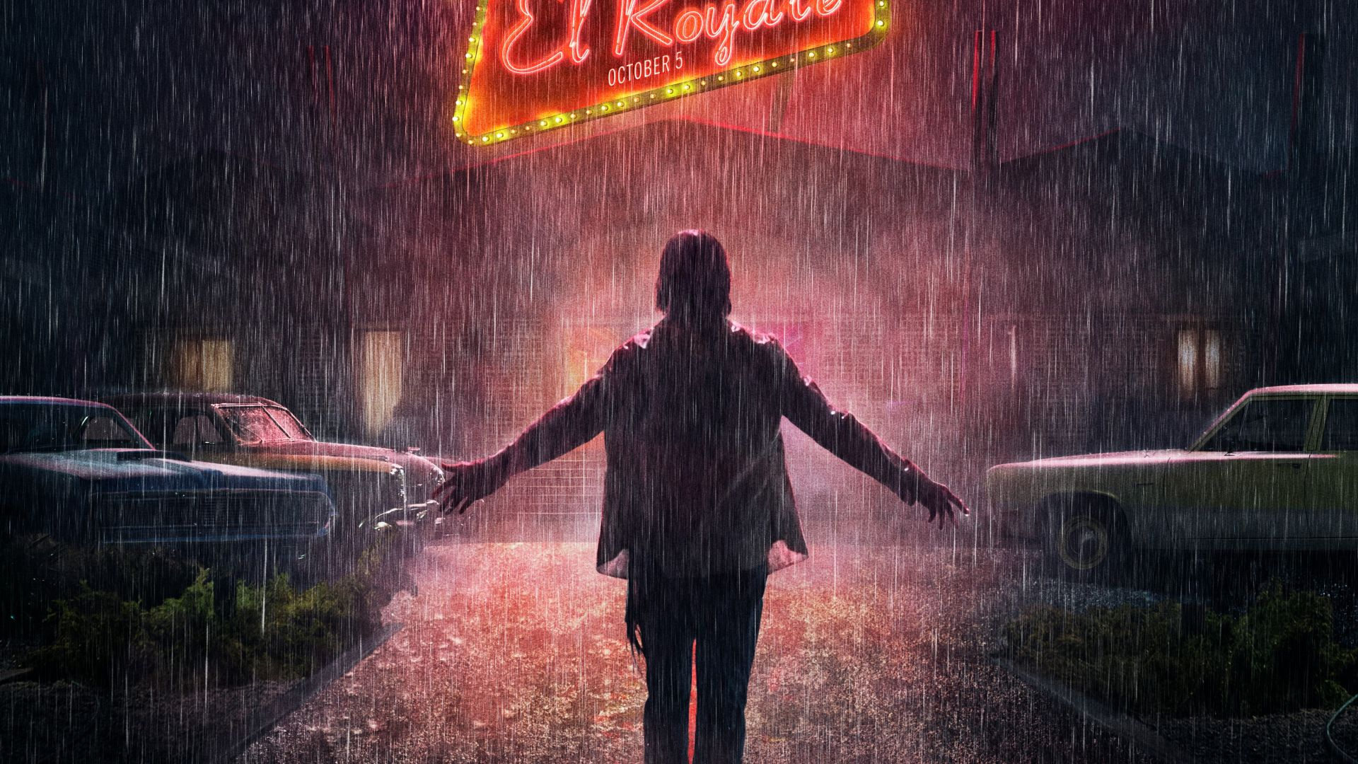 Bad Times at the El Royale, poster, 4K (horizontal)