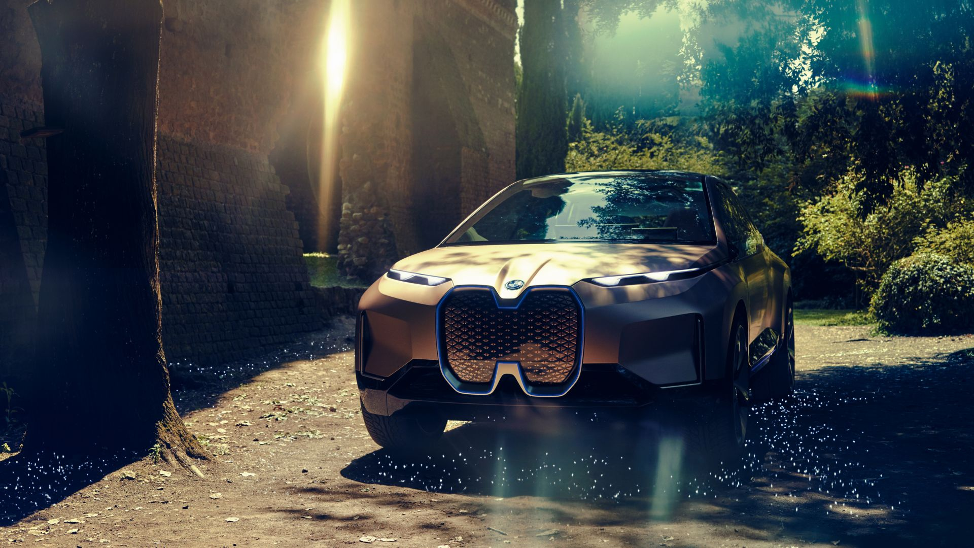 BMW Vision iNEXT, SUV, electric cars, 4K (horizontal)