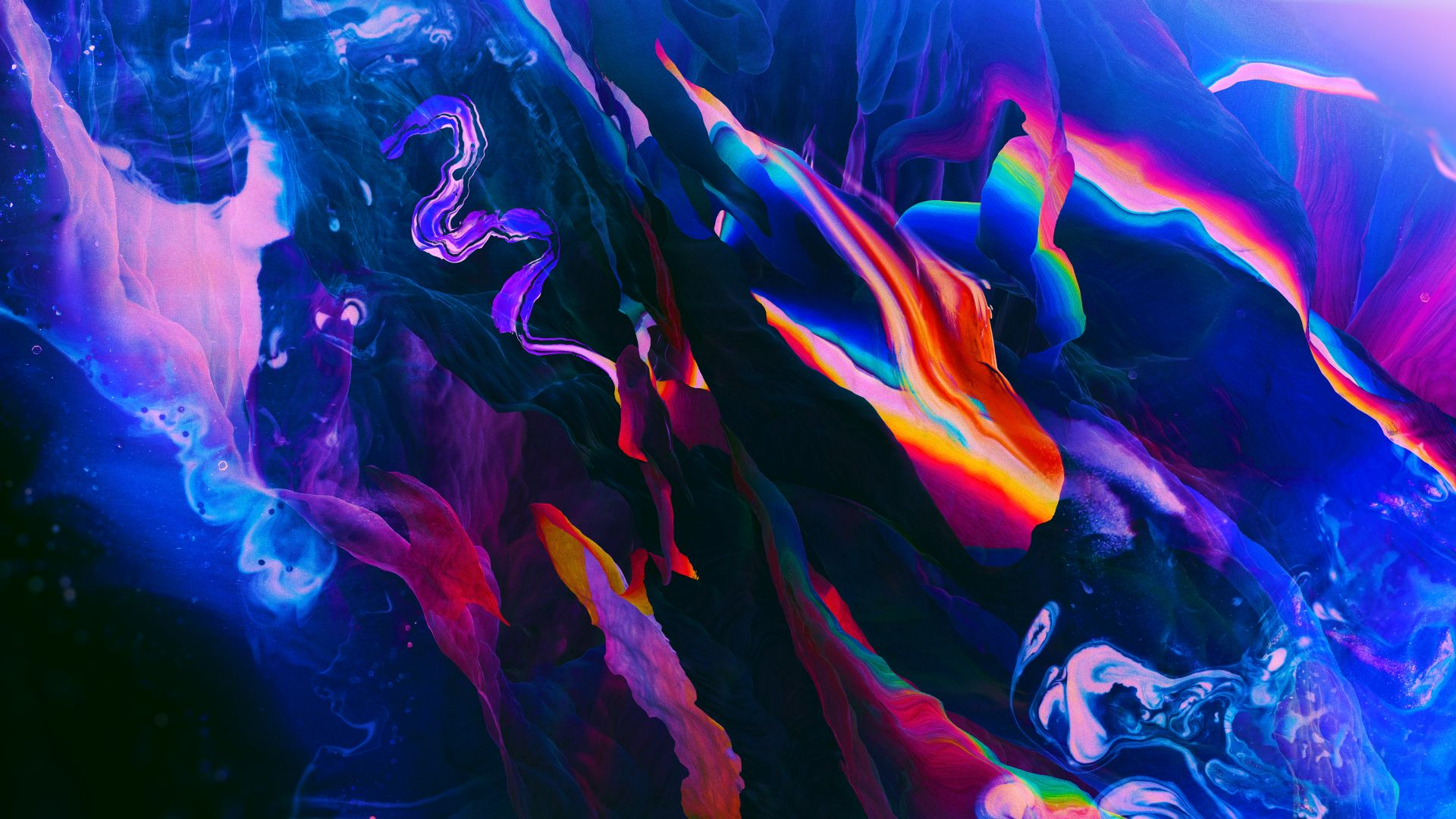 abstract, colorful, 8K (horizontal)