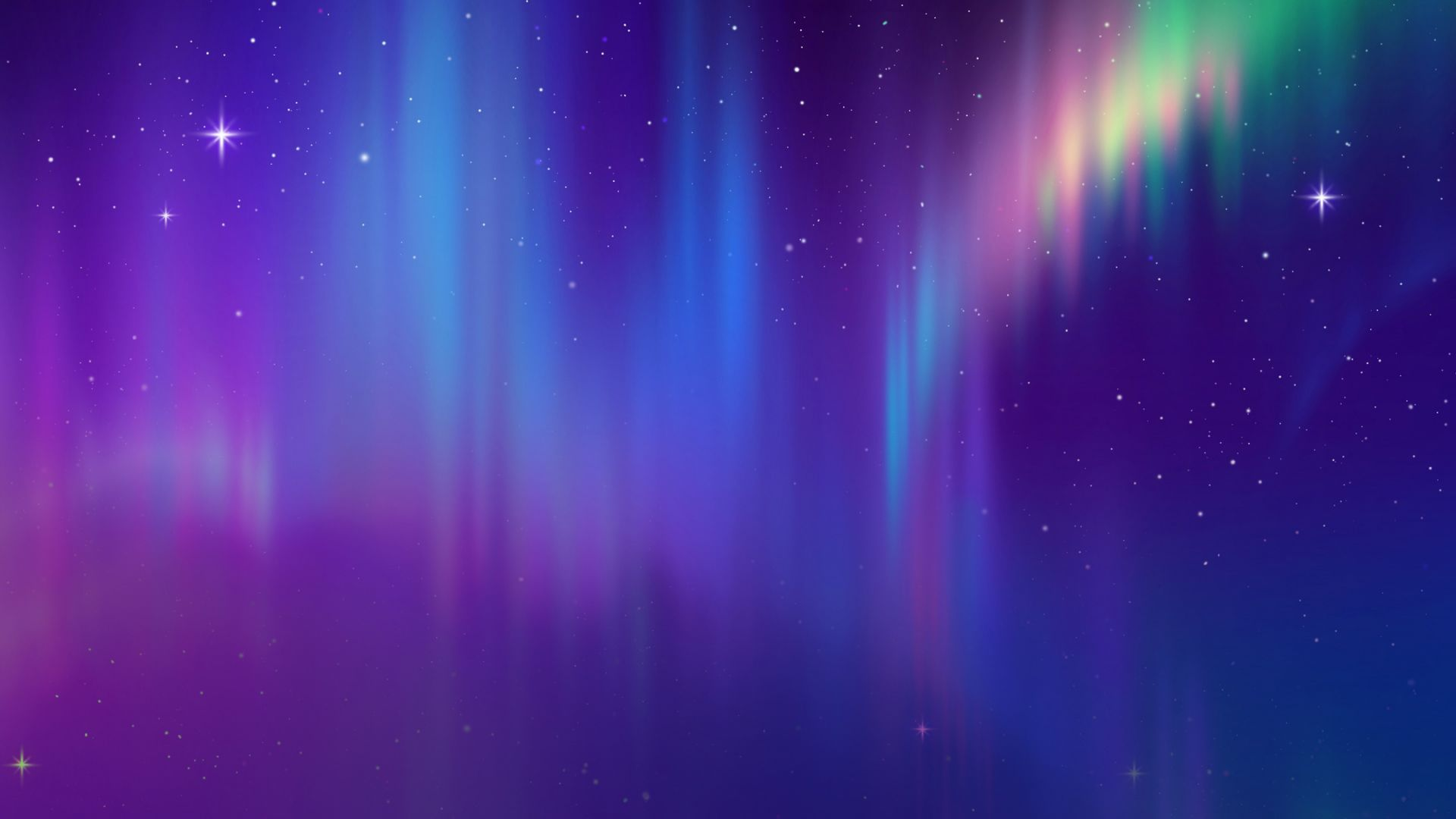 aurora, space, abstract, HD (horizontal)