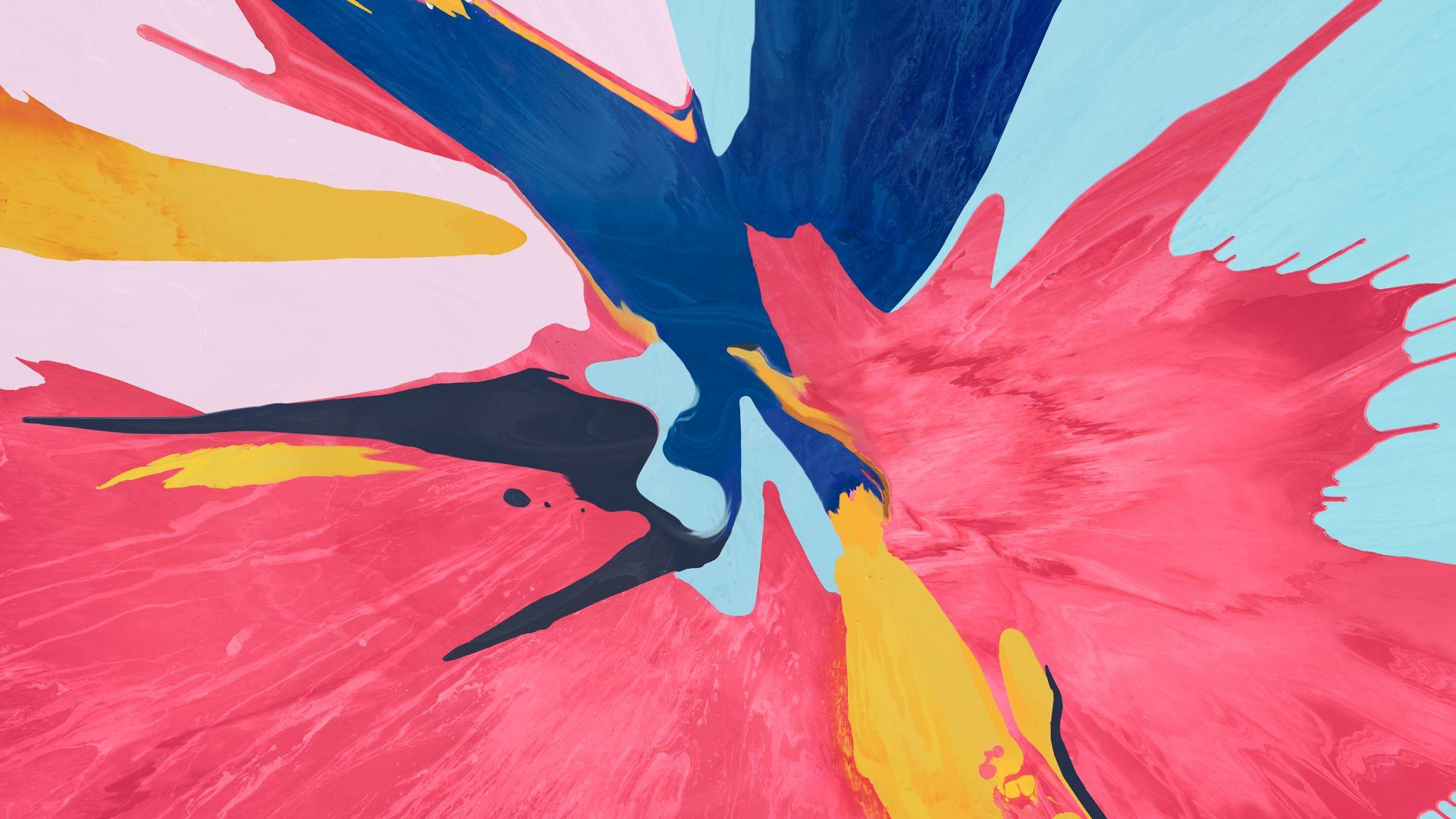 Ipad Mini 3d Abstract Wallpaper: Wallpaper Abstract, Colorful, IPad Pro 2018, 4K, OS #20827
