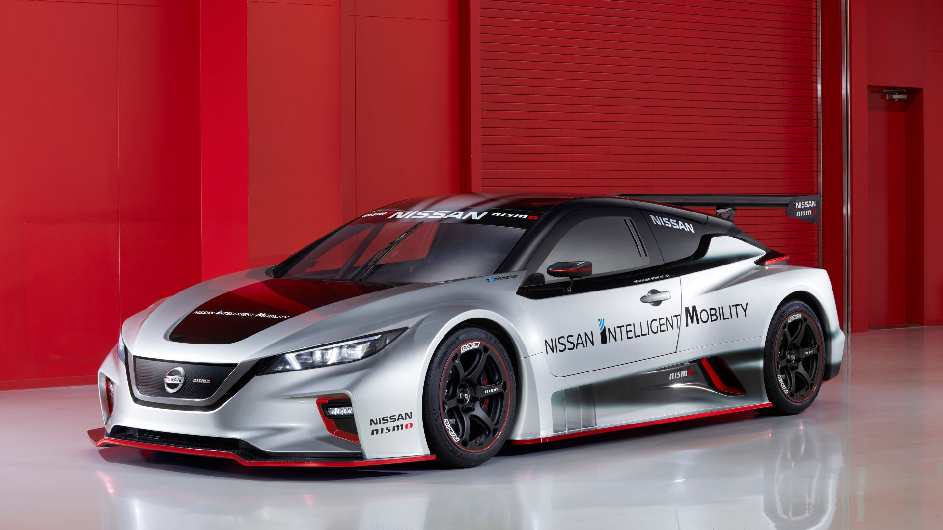 Nissan Leaf Nismo RC, 2018 Cars, electric cars, 5K (horizontal)