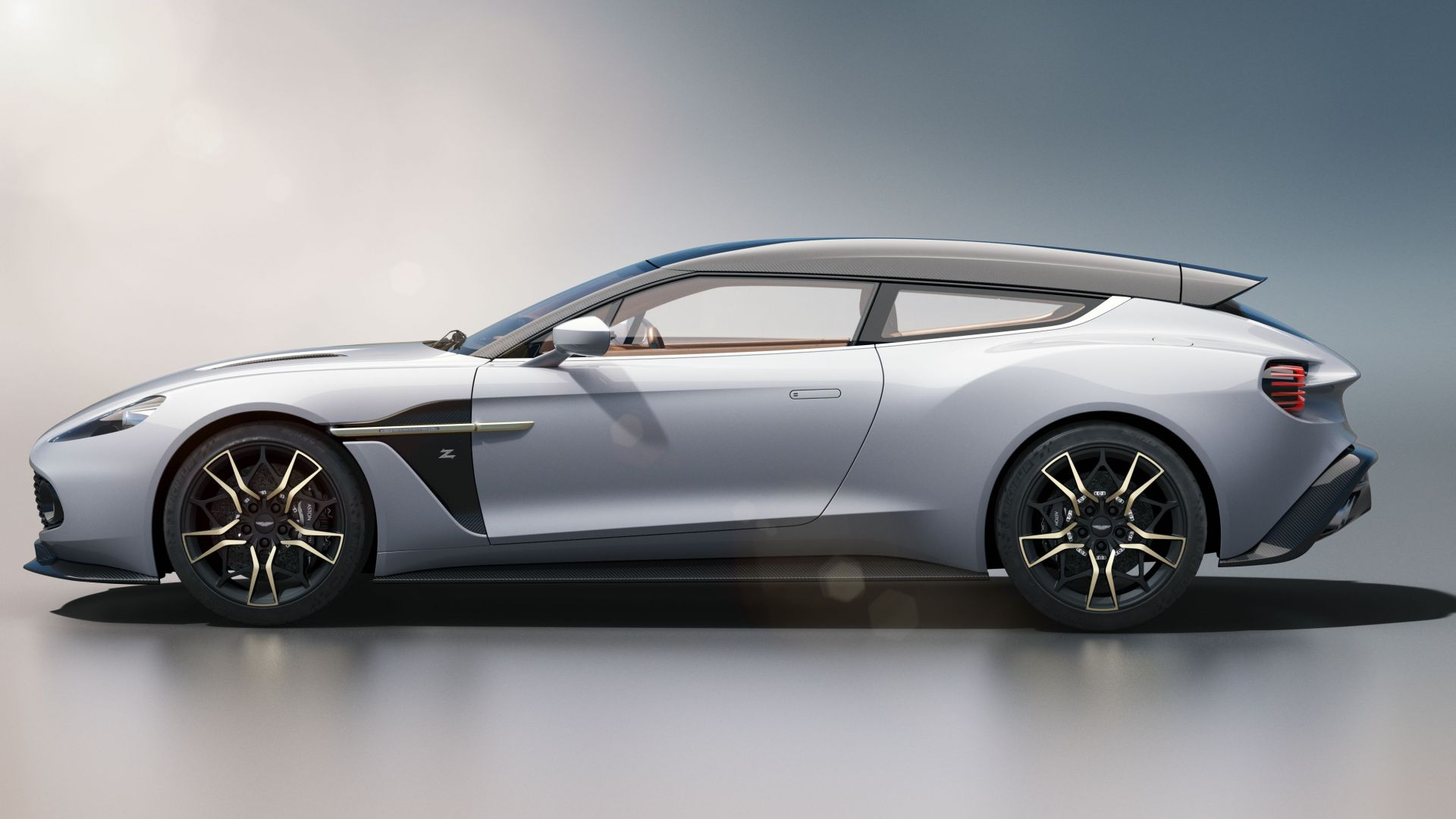 Aston Martin Vanquish Zagato Shooting Brake, 2019 Cars, 4K (horizontal)