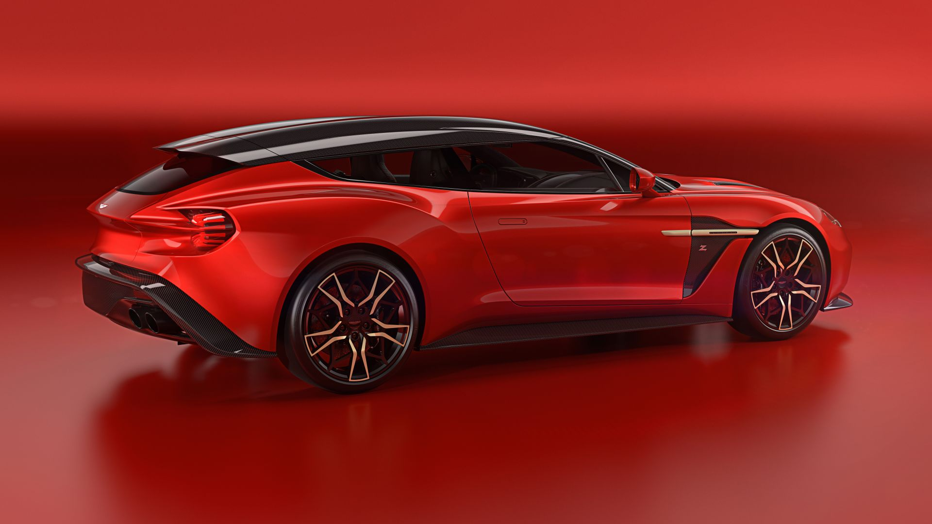 Aston Martin Vanquish Zagato Shooting Brake, 2019 Cars, 5K (horizontal)