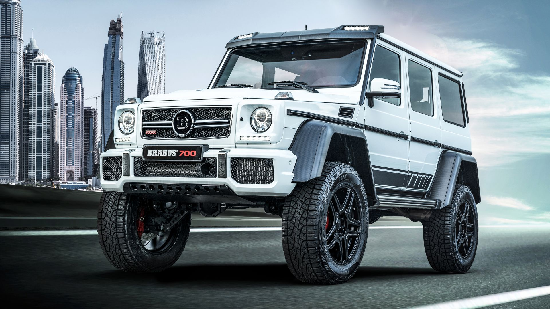 Brabus 700 Final Edition, SUV, 2019 Cars, 4K (horizontal)