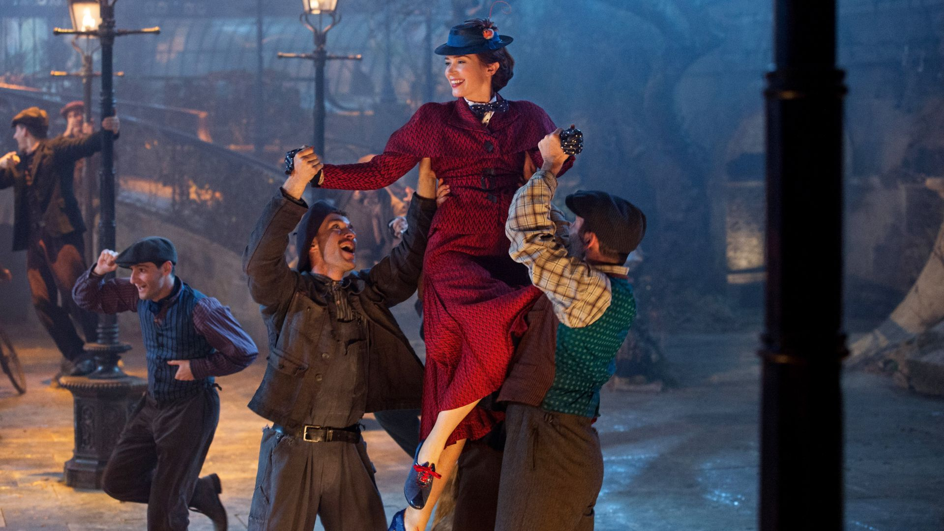 Mary Poppins Returns, Emily Blunt, 4K (horizontal)