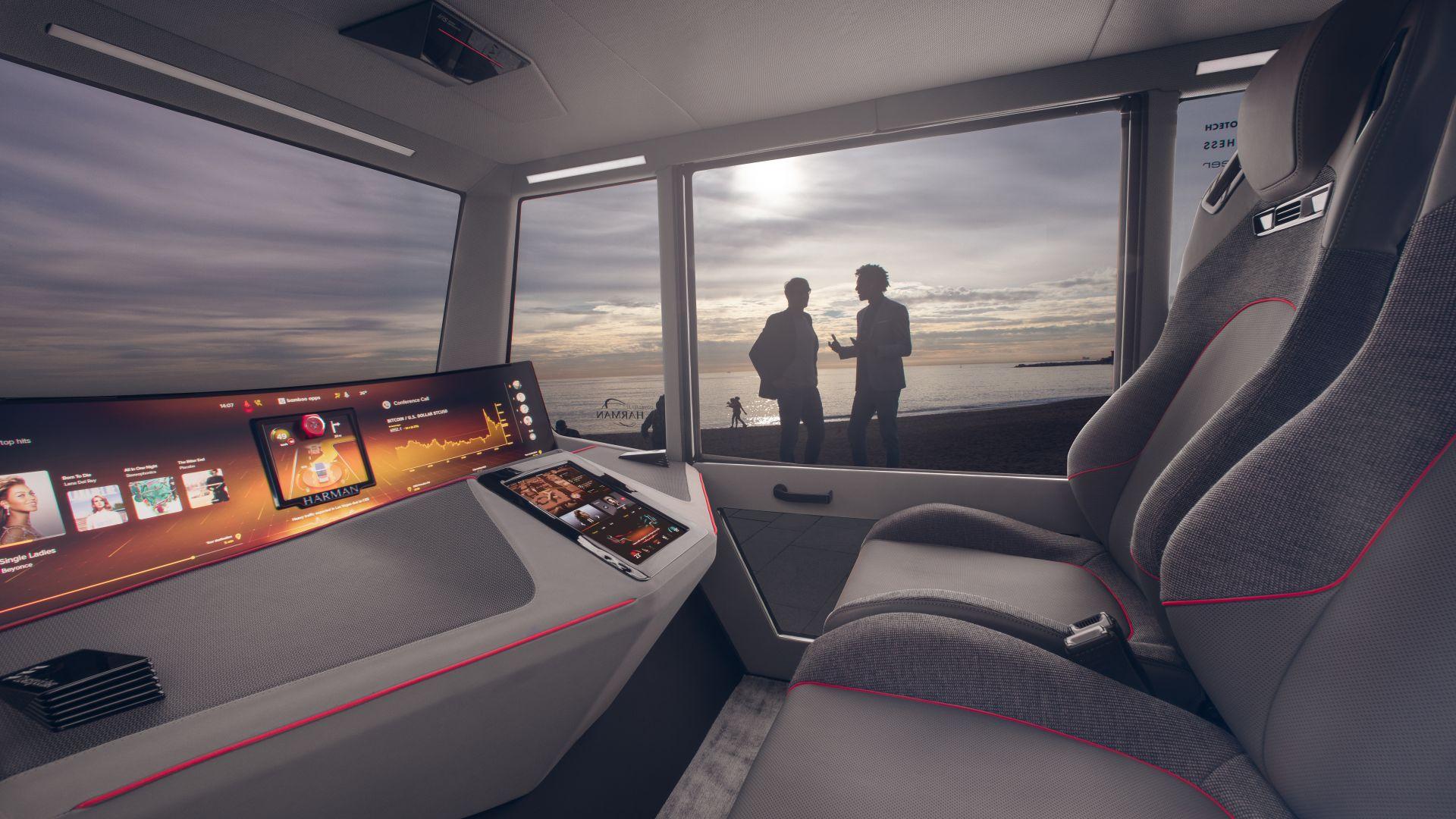 Auto Transport Quotes >> Wallpaper Rinspeed microSNAP, interior, 8K, Hi-Tech #21000