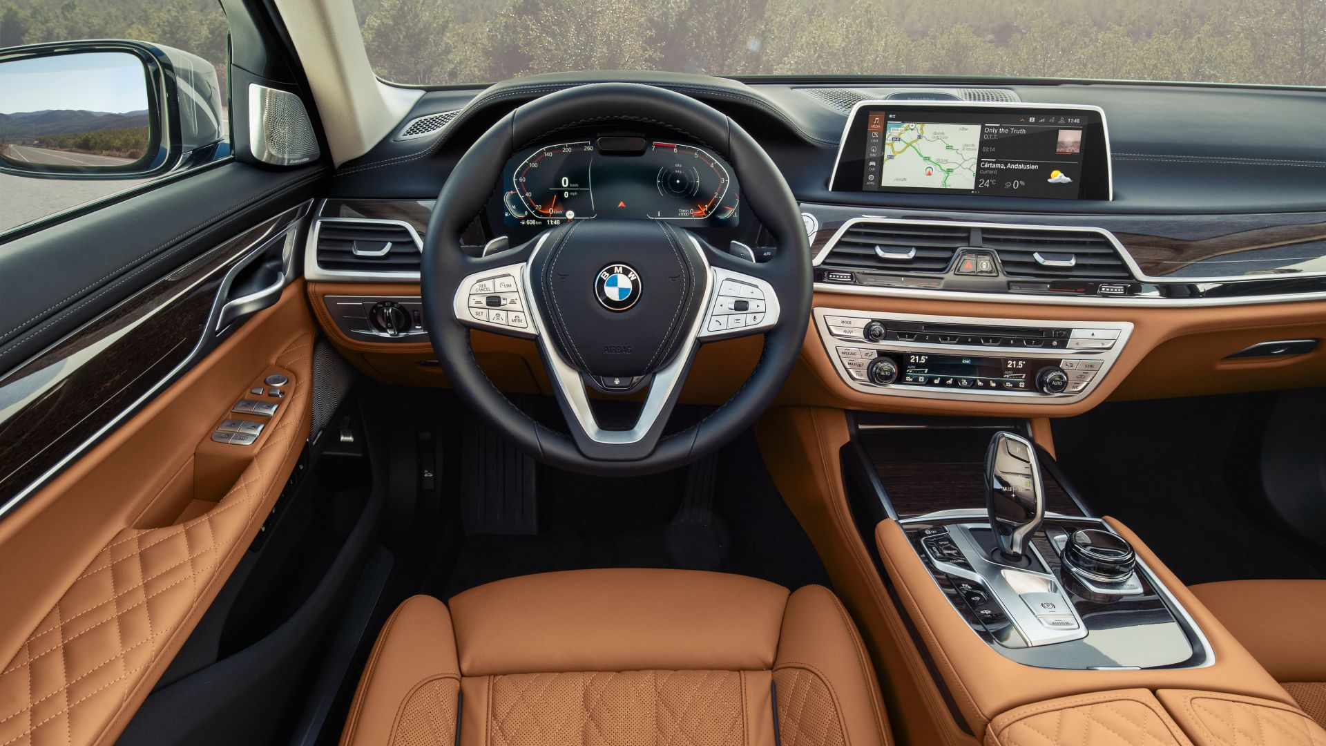 BMW 750Li xDrive, 2019 Cars, 4K (horizontal)