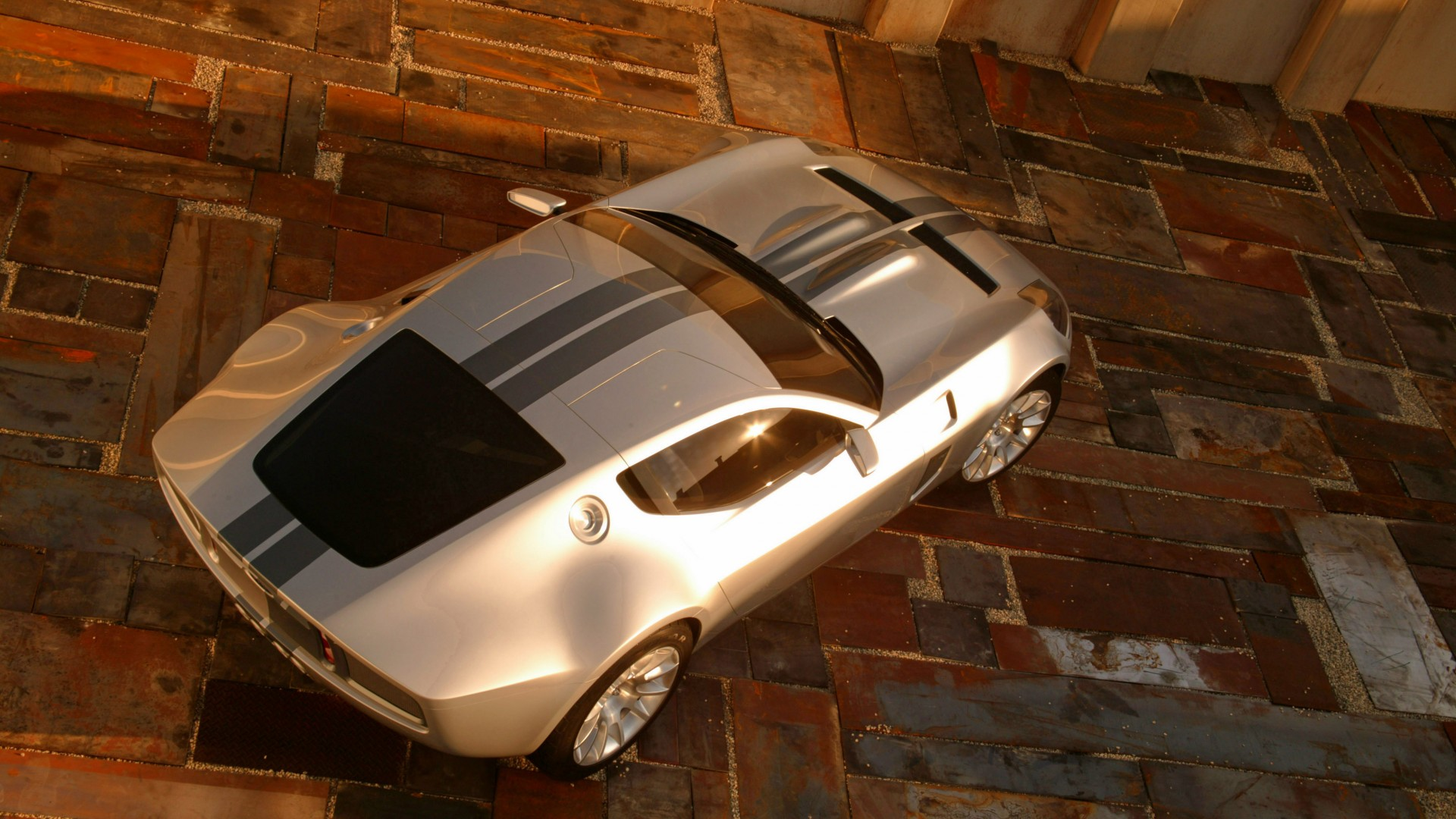 Ford Shelby GR-1, concept, Ford, Shelby, GT, Gran Turismo, sports car, supercar, top (horizontal)