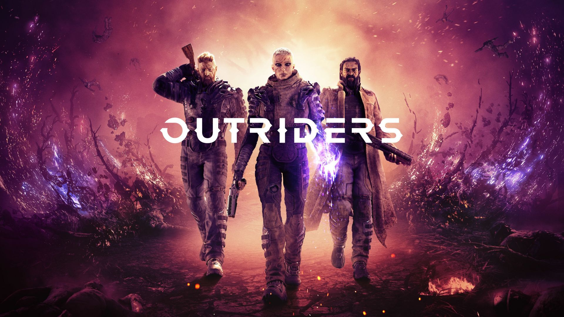 Outriders, E3 2019, poster, 4K (horizontal)