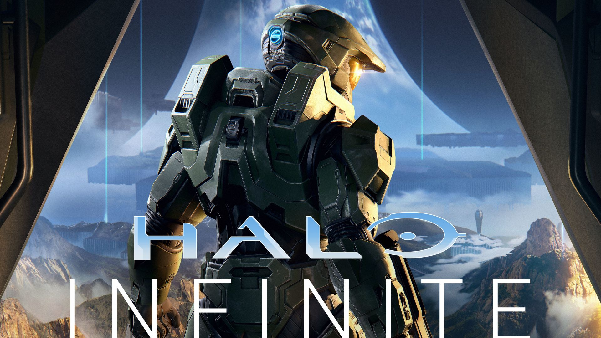 Halo Infinite, E3 2019, poster, 5K (horizontal)