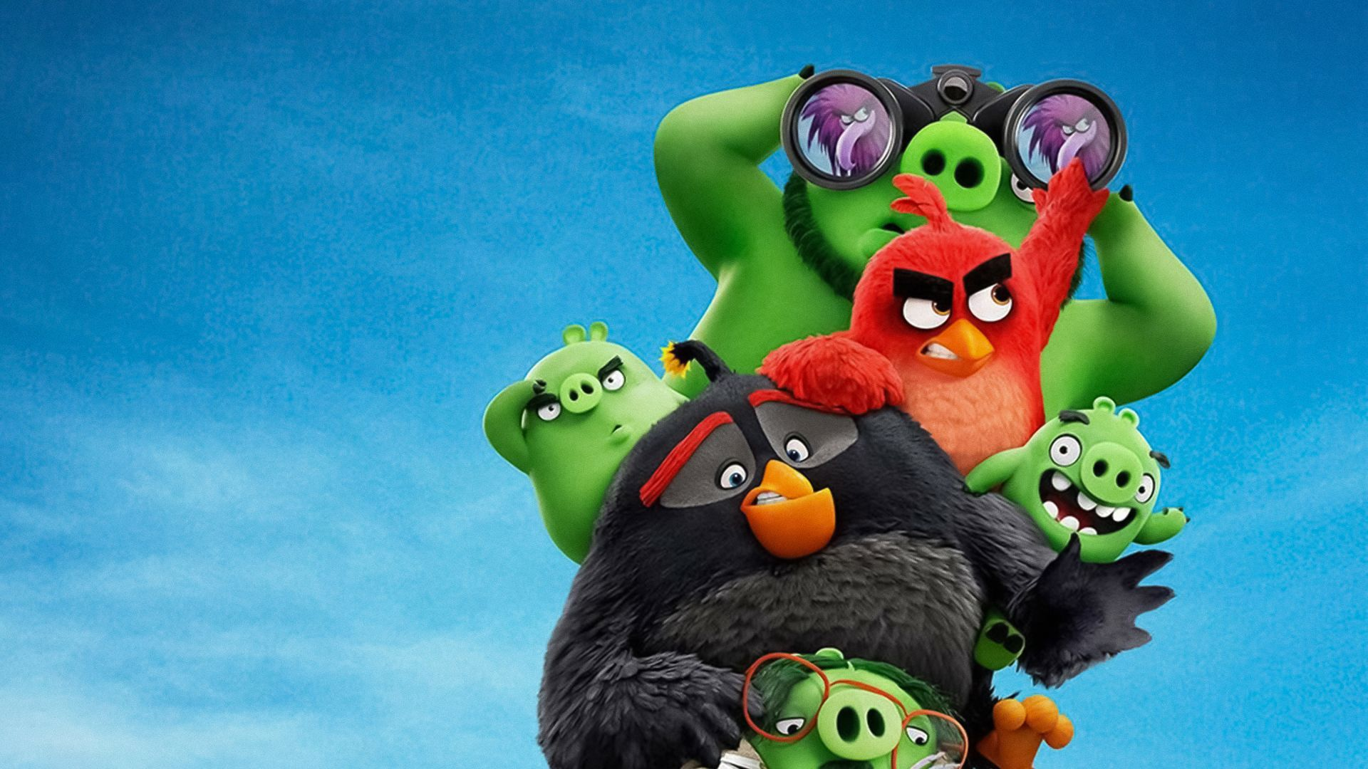 The Angry Birds Movie 2, poster, 4K (horizontal)
