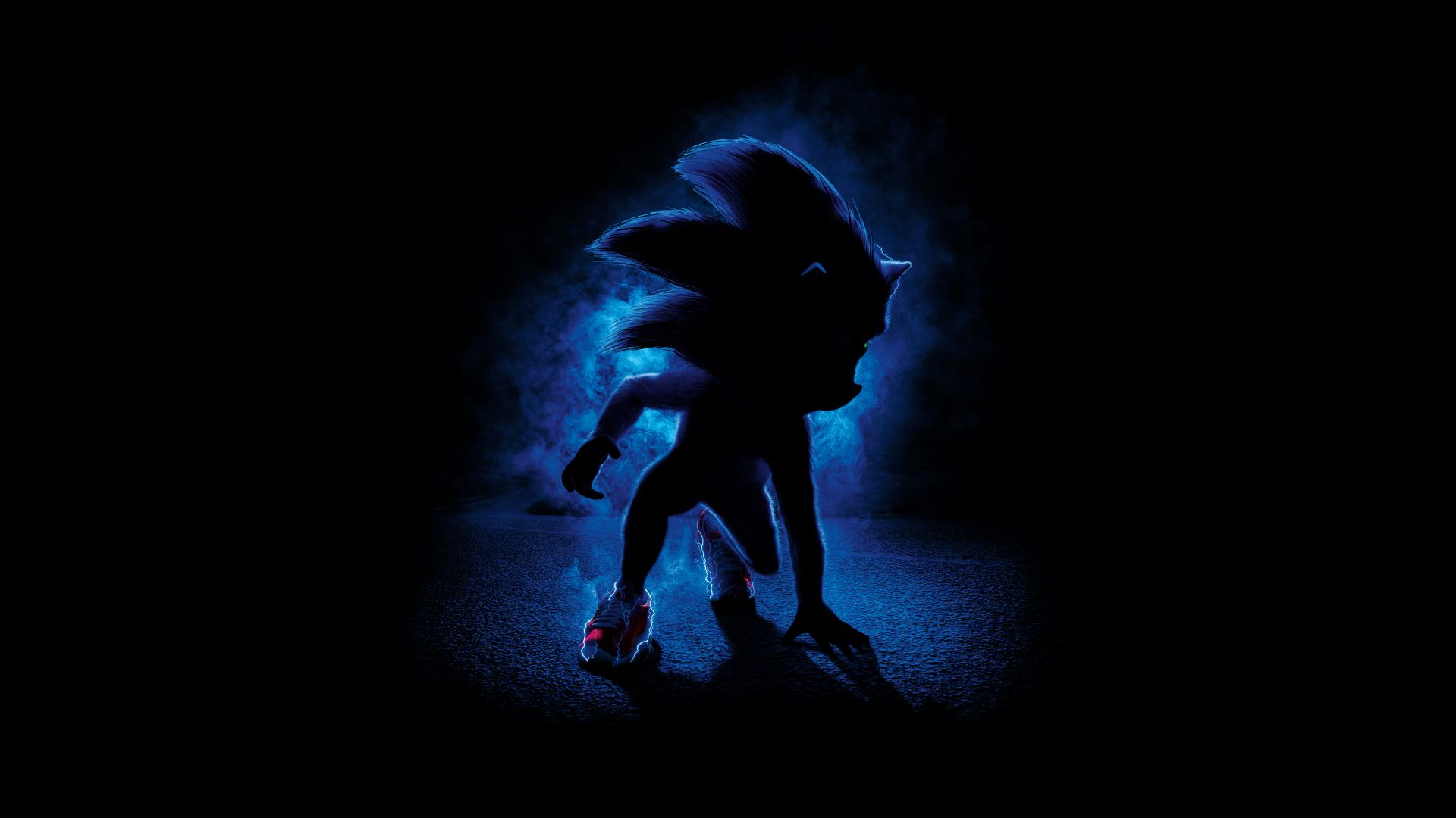 Sonic the Hedgehog, poster, 8K (horizontal)