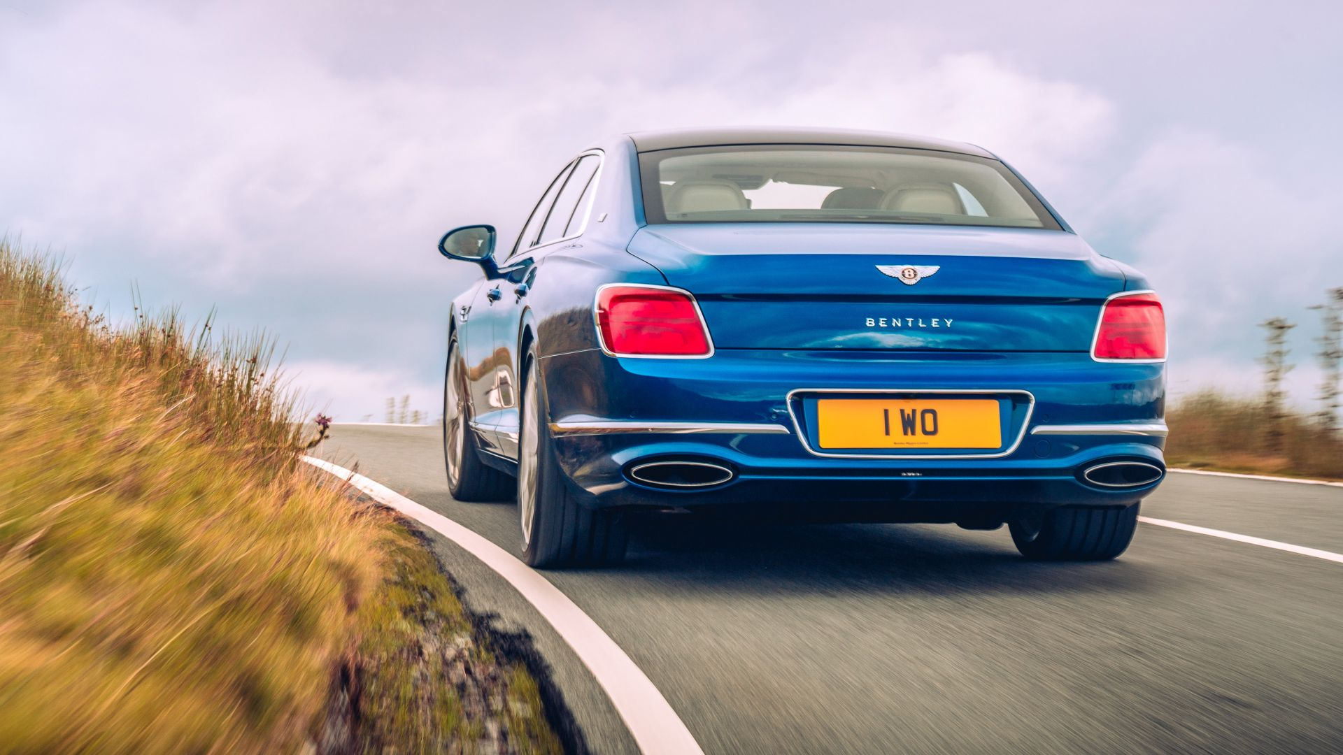 Bentley Flying Spur, luxury cars, 2020 cars, 4K (horizontal)