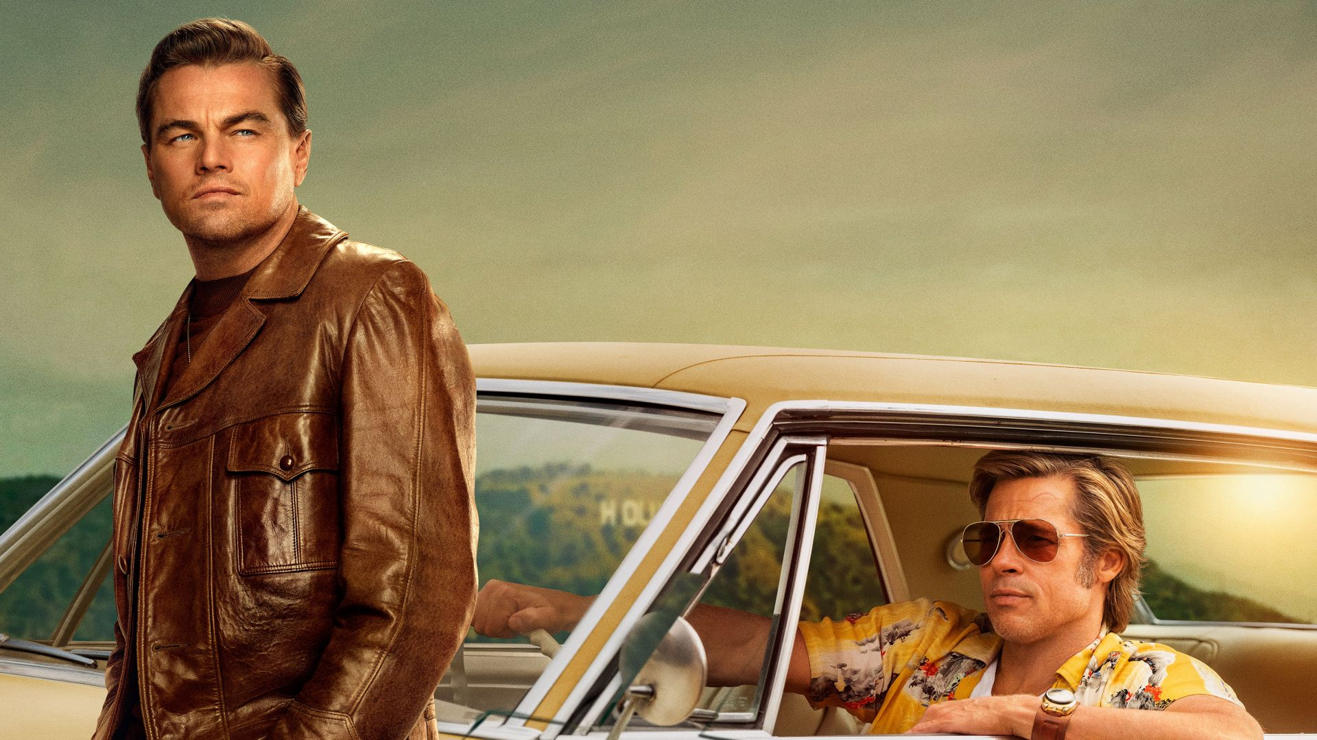 Wallpaper Once Upon A Time In Hollywood Brad Pitt Leonardo