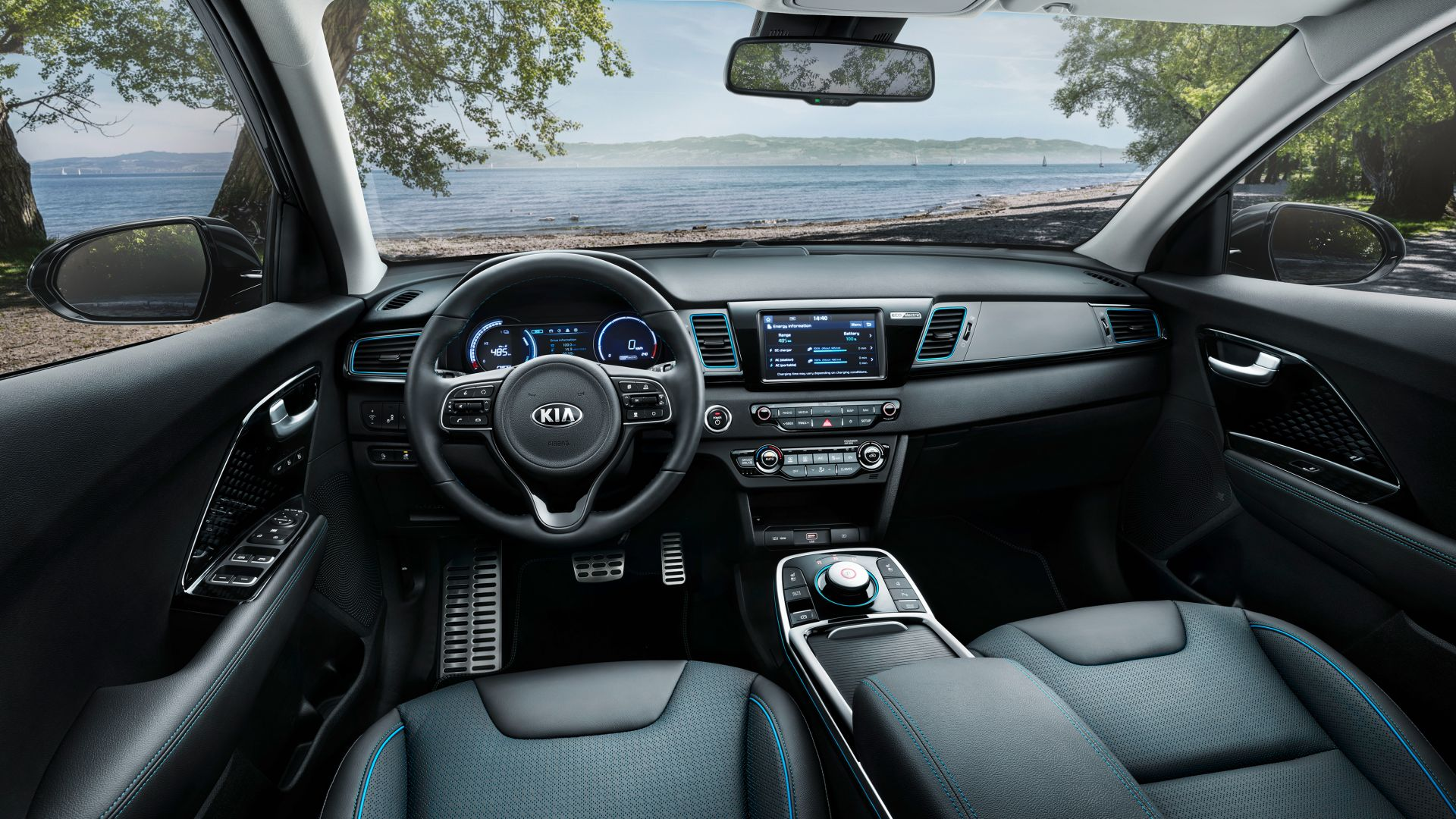 Kia e-Niro, electric cars, 4K (horizontal)