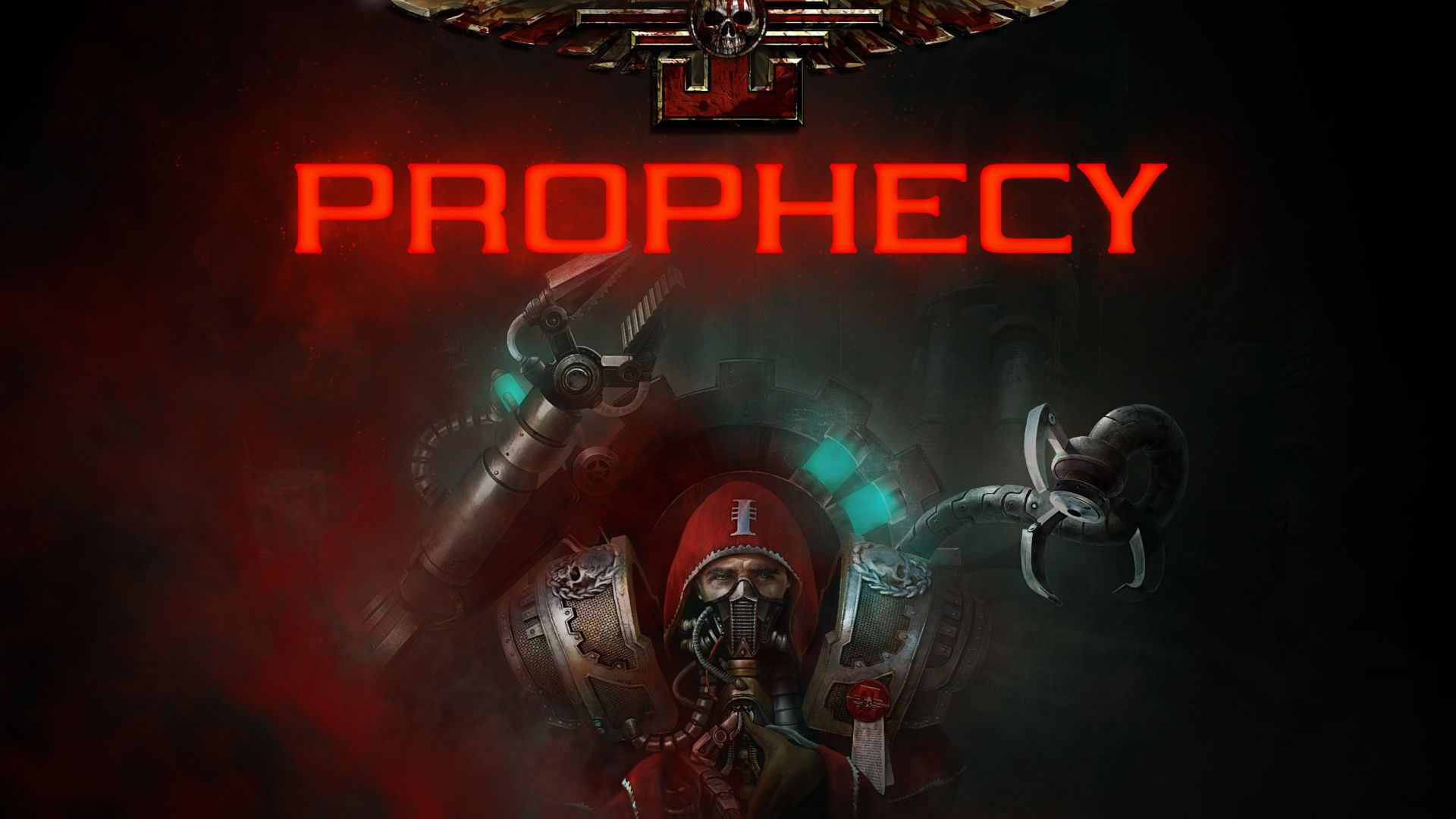 Warhammer 40K: Inquisitor - Prophecy, poster, 4K (horizontal)