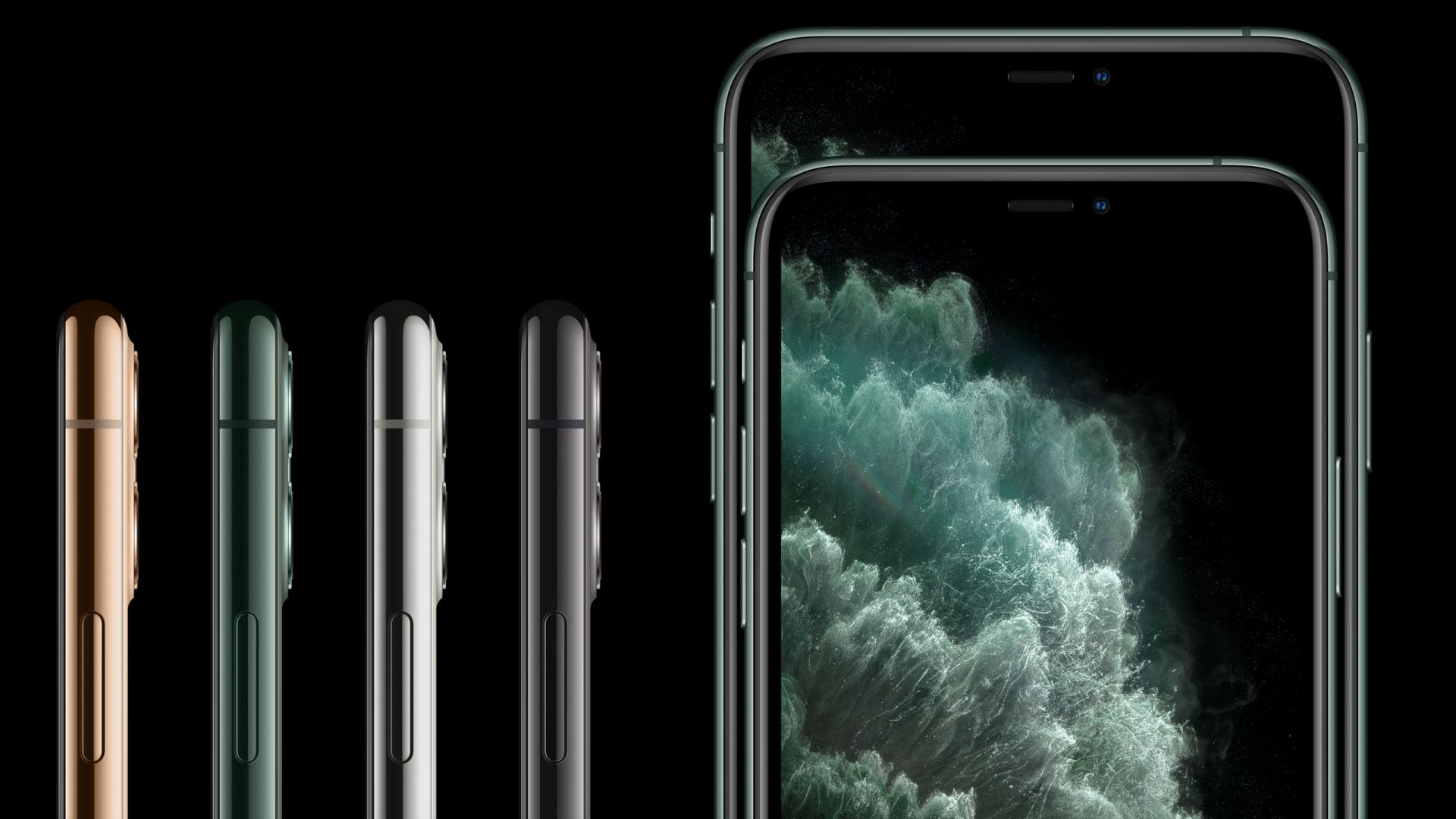 iPhone 11 Pro, iPhone 11 Pro Max, Apple September 2019 Event (horizontal)