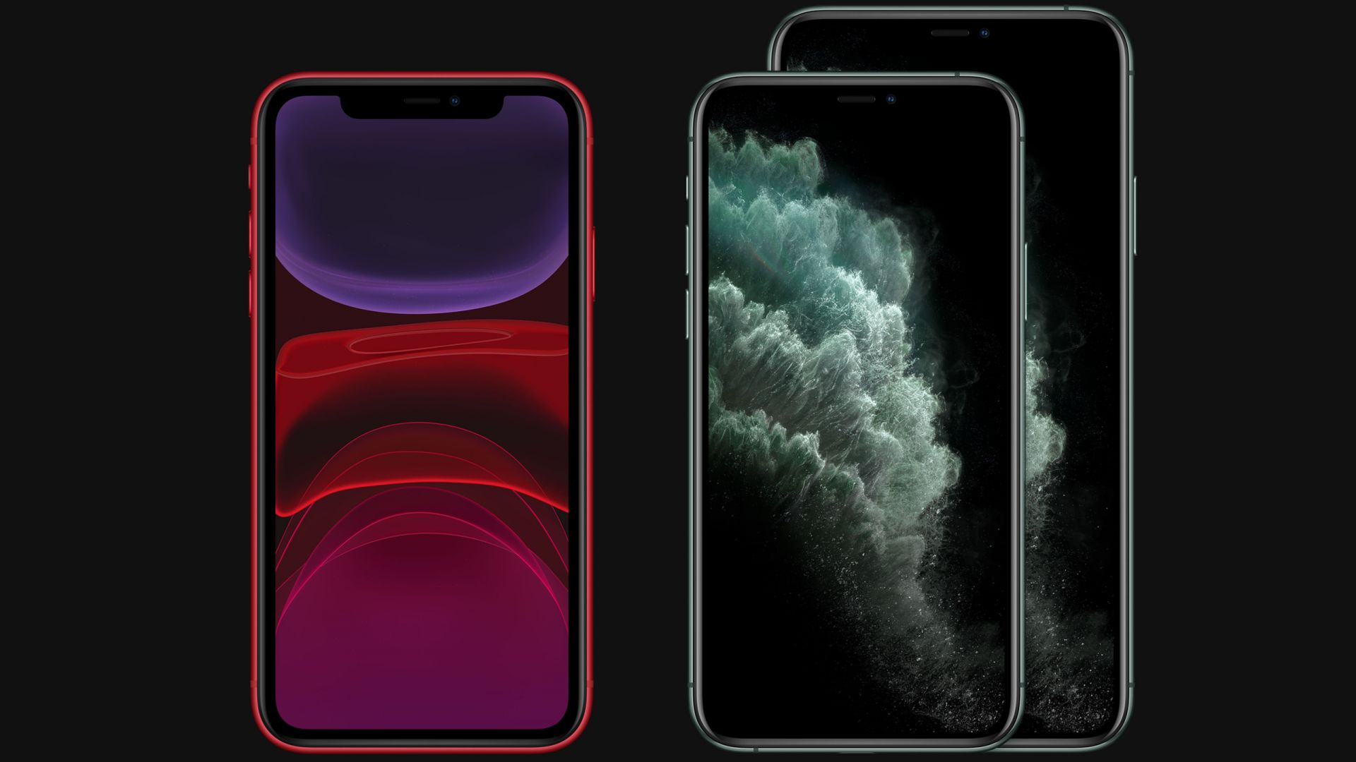iPhone 11, iPhone 11 Pro, iPhone 11 Pro Max, Apple September 2019 Event (horizontal)
