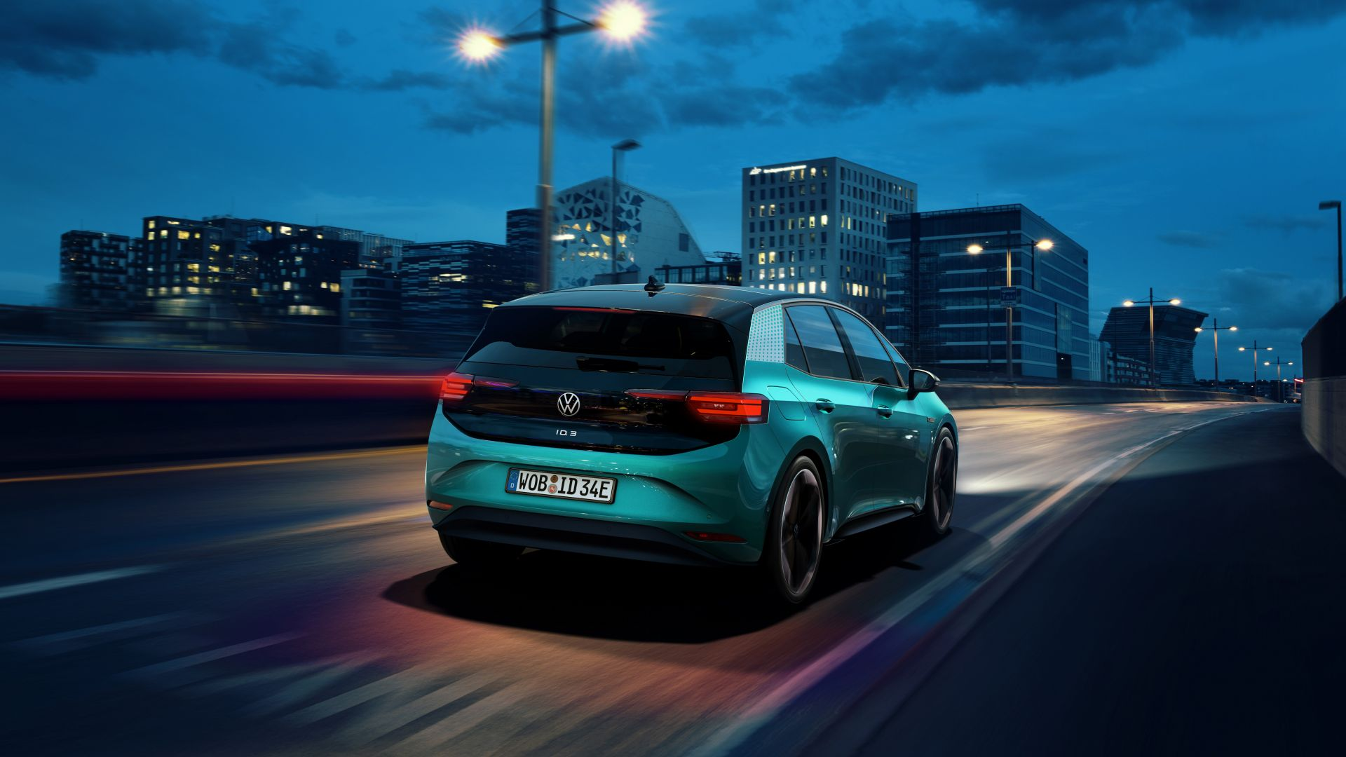 "Volkswagen ID.3 ""1st"", electric cars, 2020 cars, 5K (horizontal)"