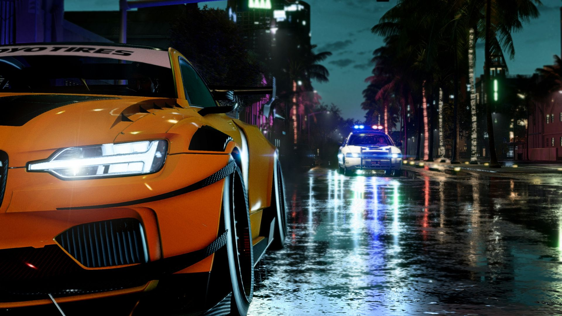 Need for Speed Heat, screenshot, 4K (horizontal)