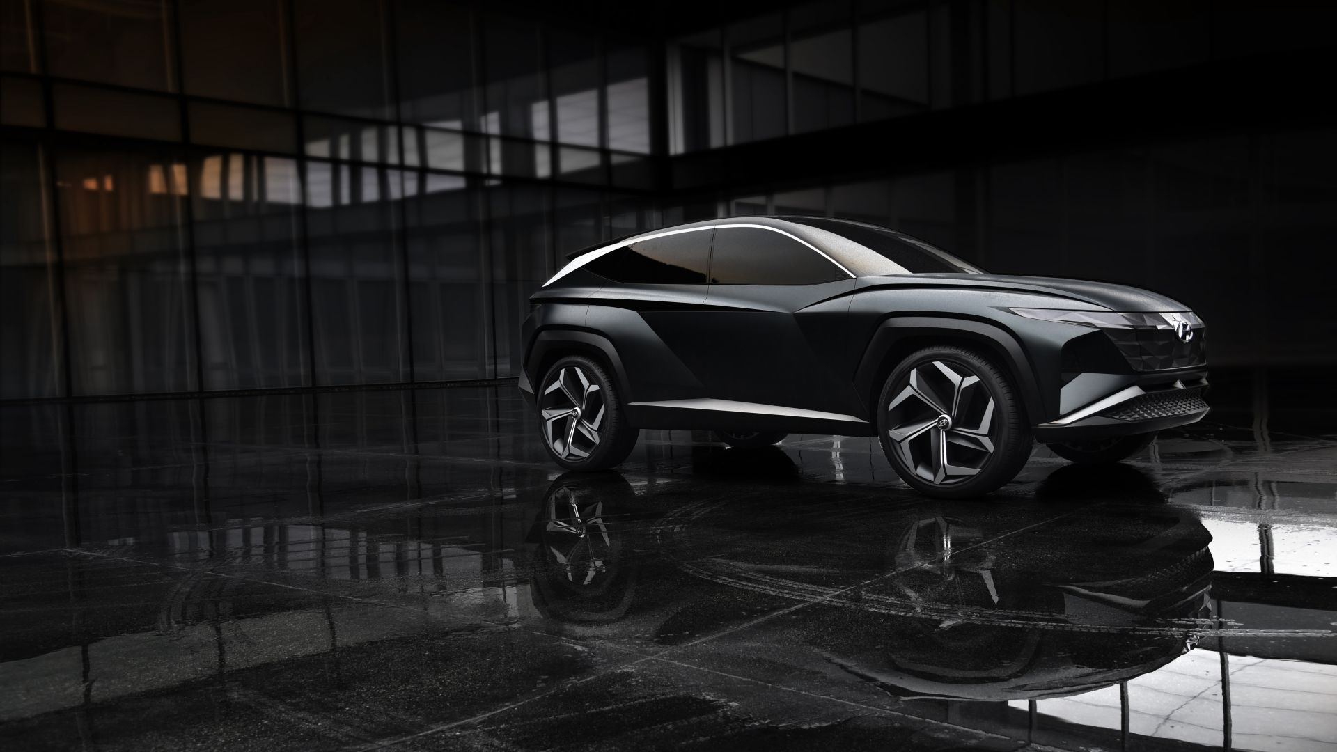 Hyundai Vision T, SUV, electric cars, 4K (horizontal)