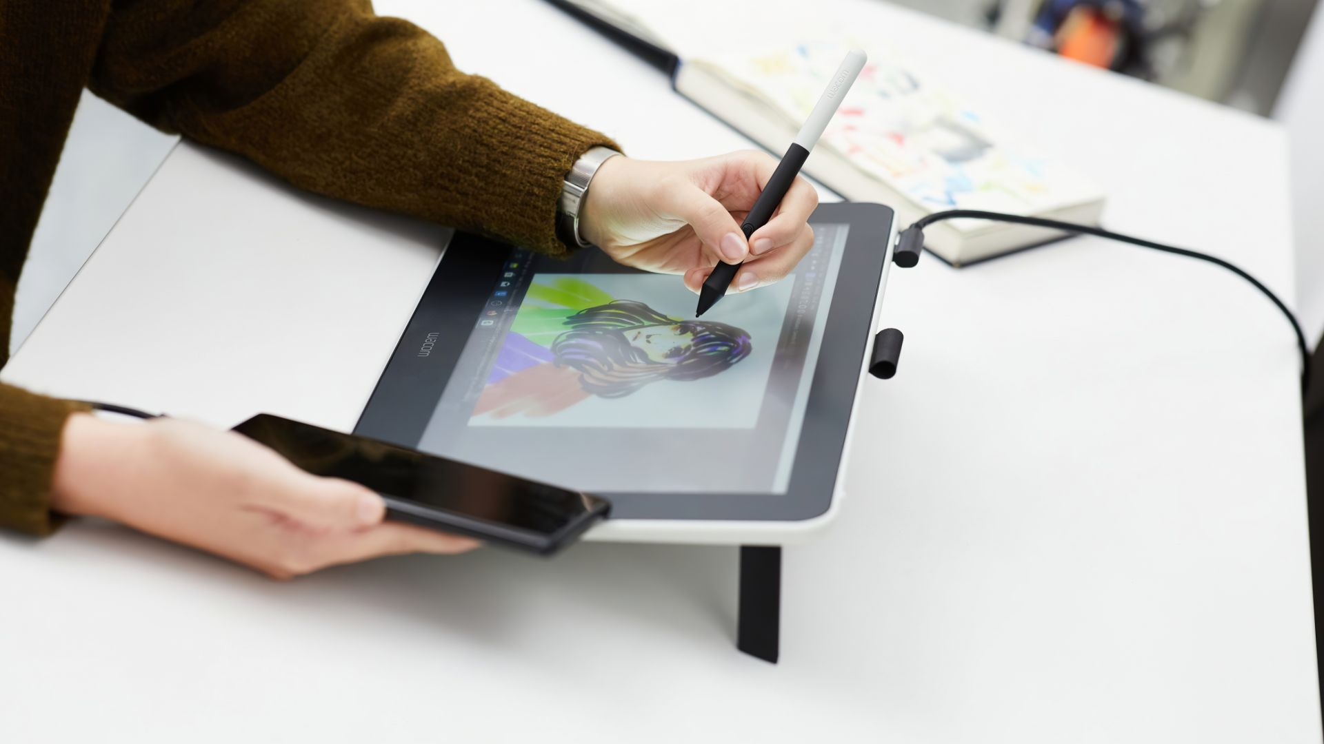 Wacom One, CES 2020, 5K (horizontal)