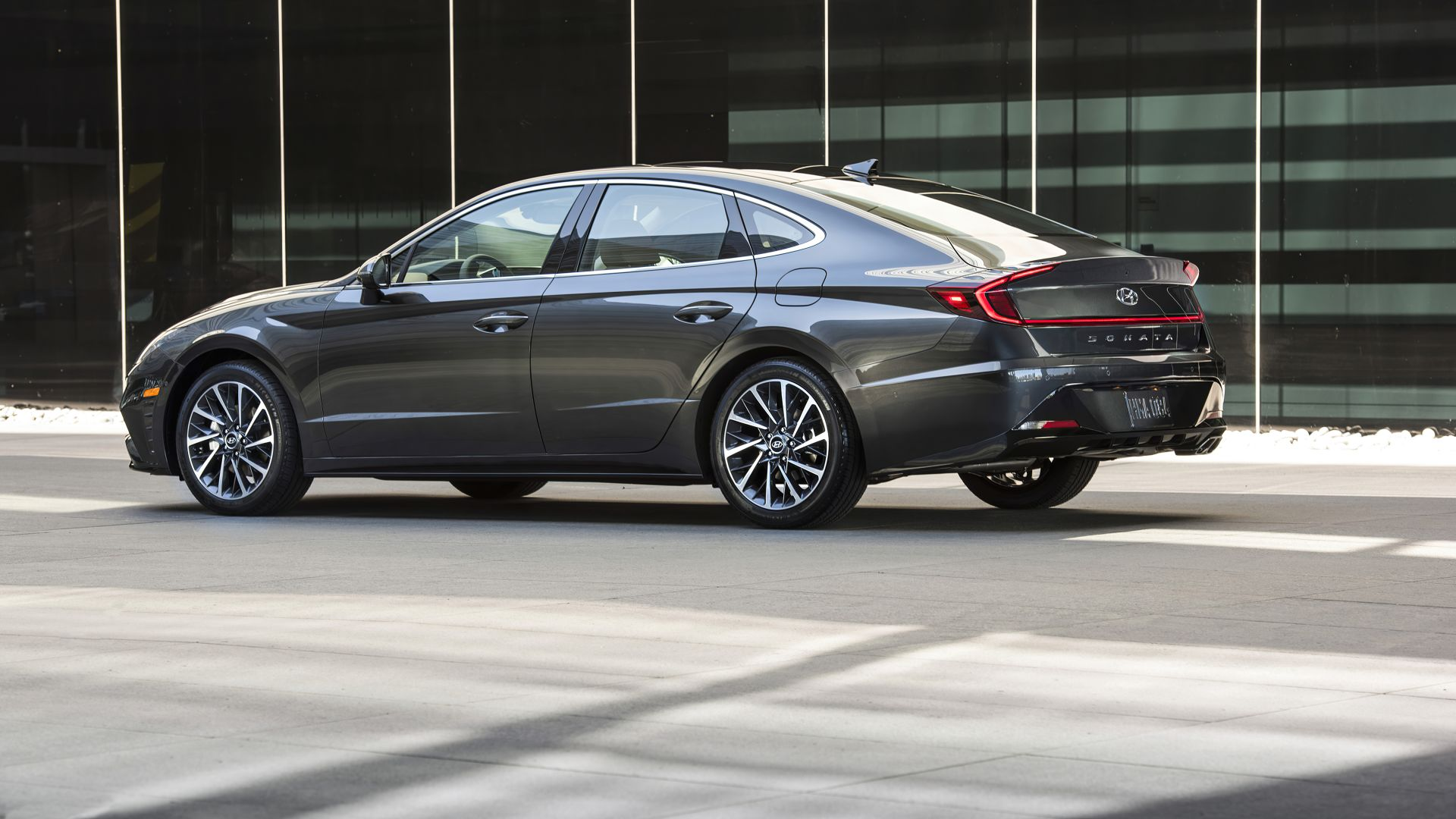 Hyundai Sonata Limited, 2020 cars, 5K (horizontal)