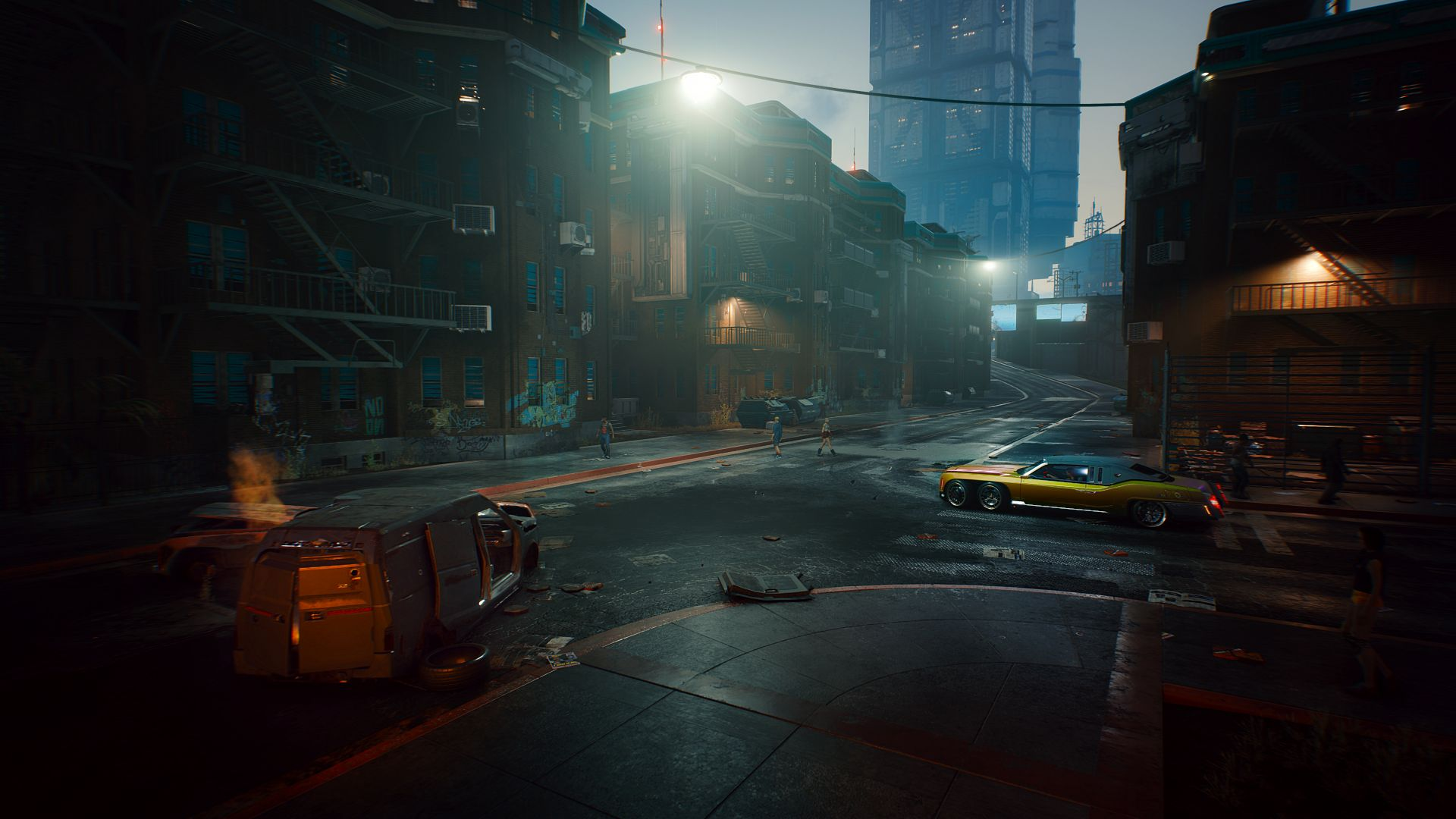 Cyberpunk 2077, screenshot, 4K (horizontal)