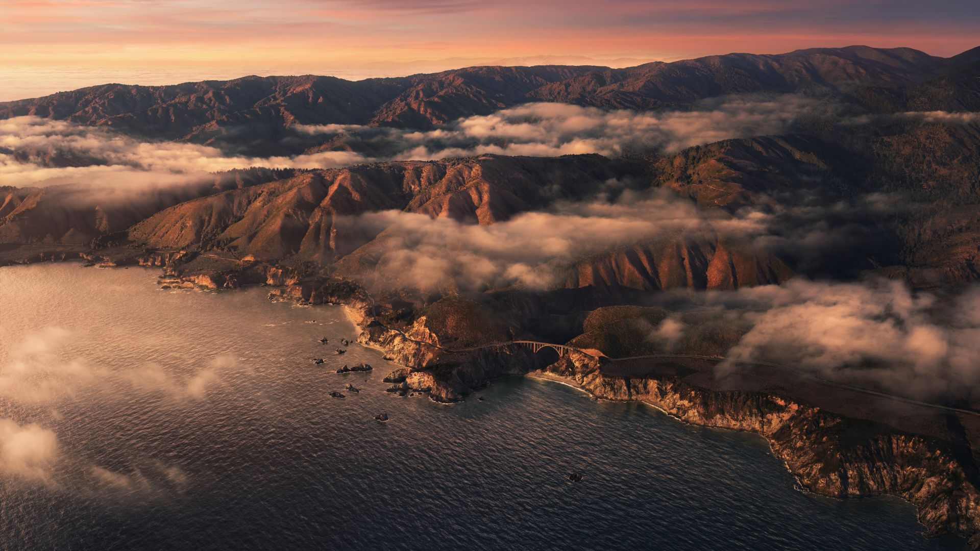 macOS Big Sur, sunset, Apple October 2020 Event, 5K (horizontal)
