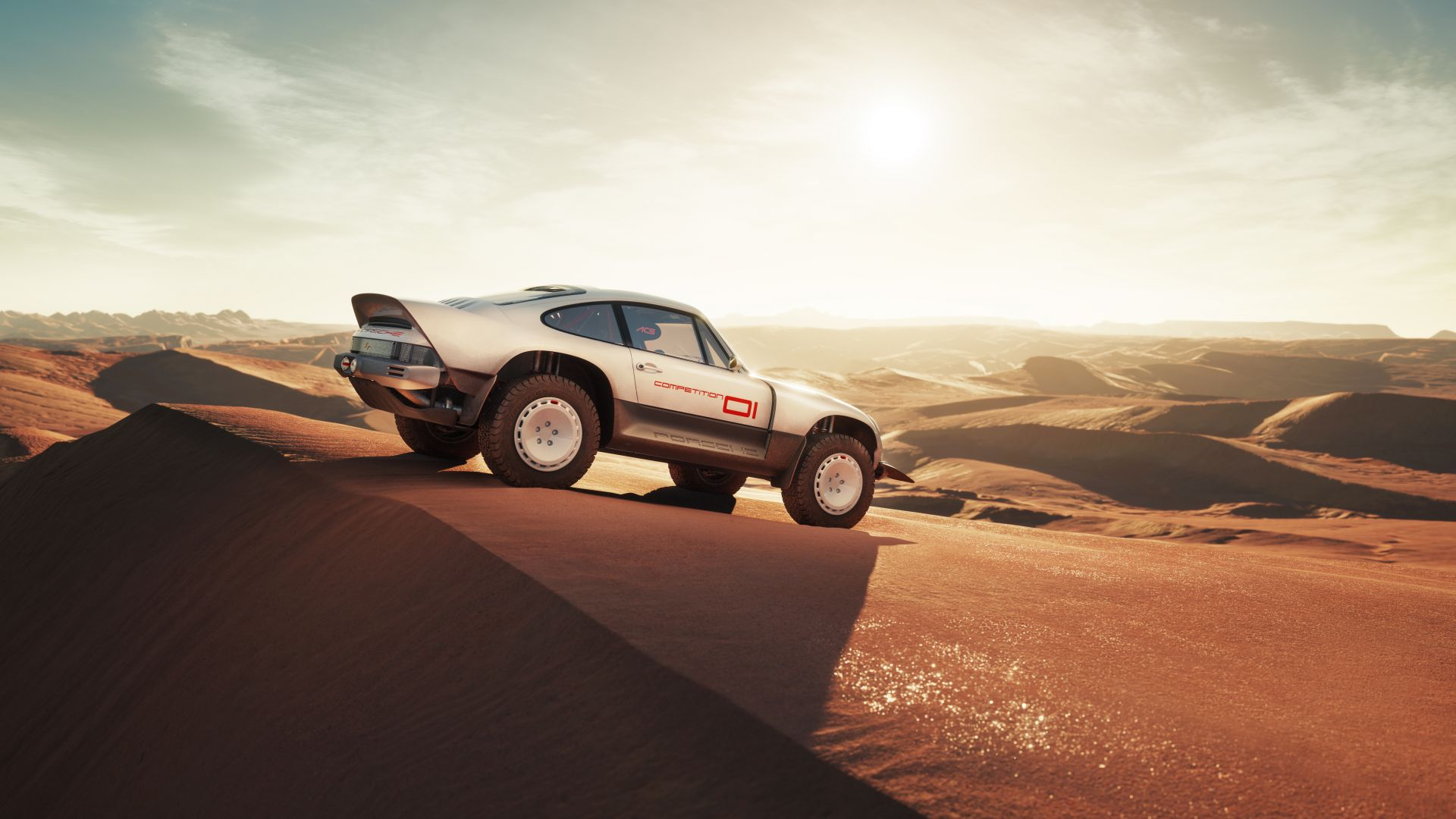 Cyberpunk Off-road Porsche by Singer