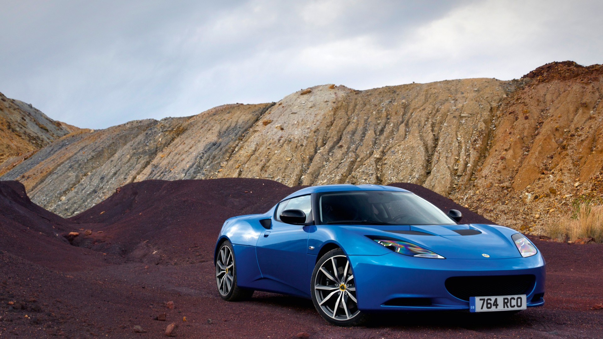Lotus Evora S, supercar, Lotus, sports car, mountain, luxury cars, blue, review, test drive, buy, rent (horizontal)
