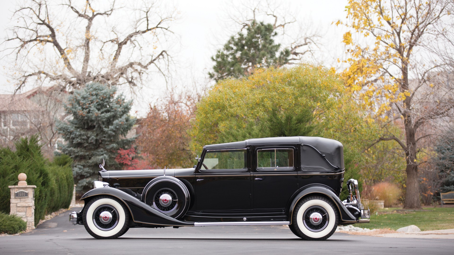 Packard Twelve, retro, Packard, classic cars, luxury cars, side, sports car, rent, buy (horizontal)