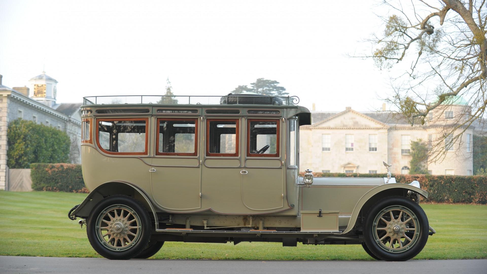 Wallpaper Rolls-Royce Silver Ghost, retro, Rolls-Royce ...